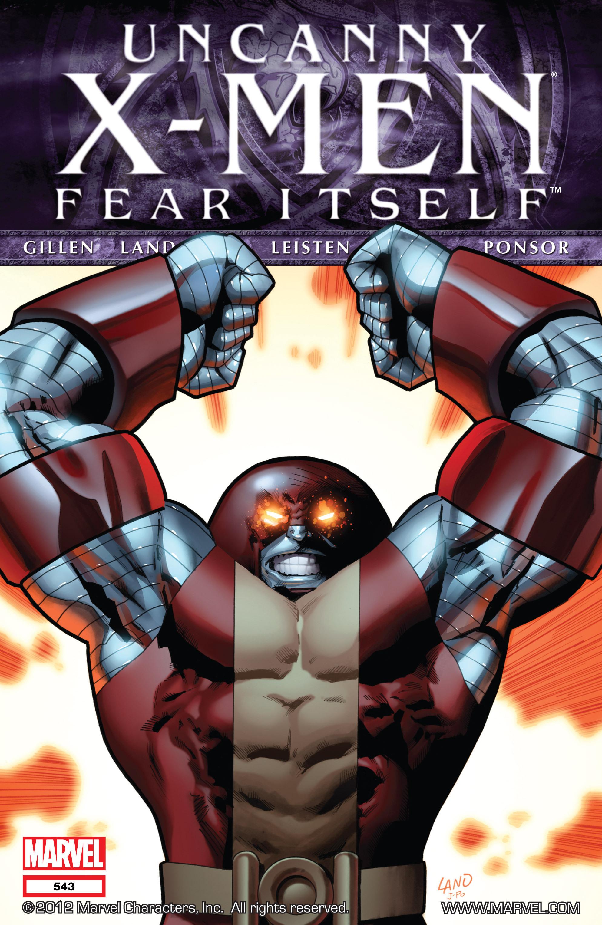 Read online Uncanny X-Men (1963) comic -  Issue #543 - 1