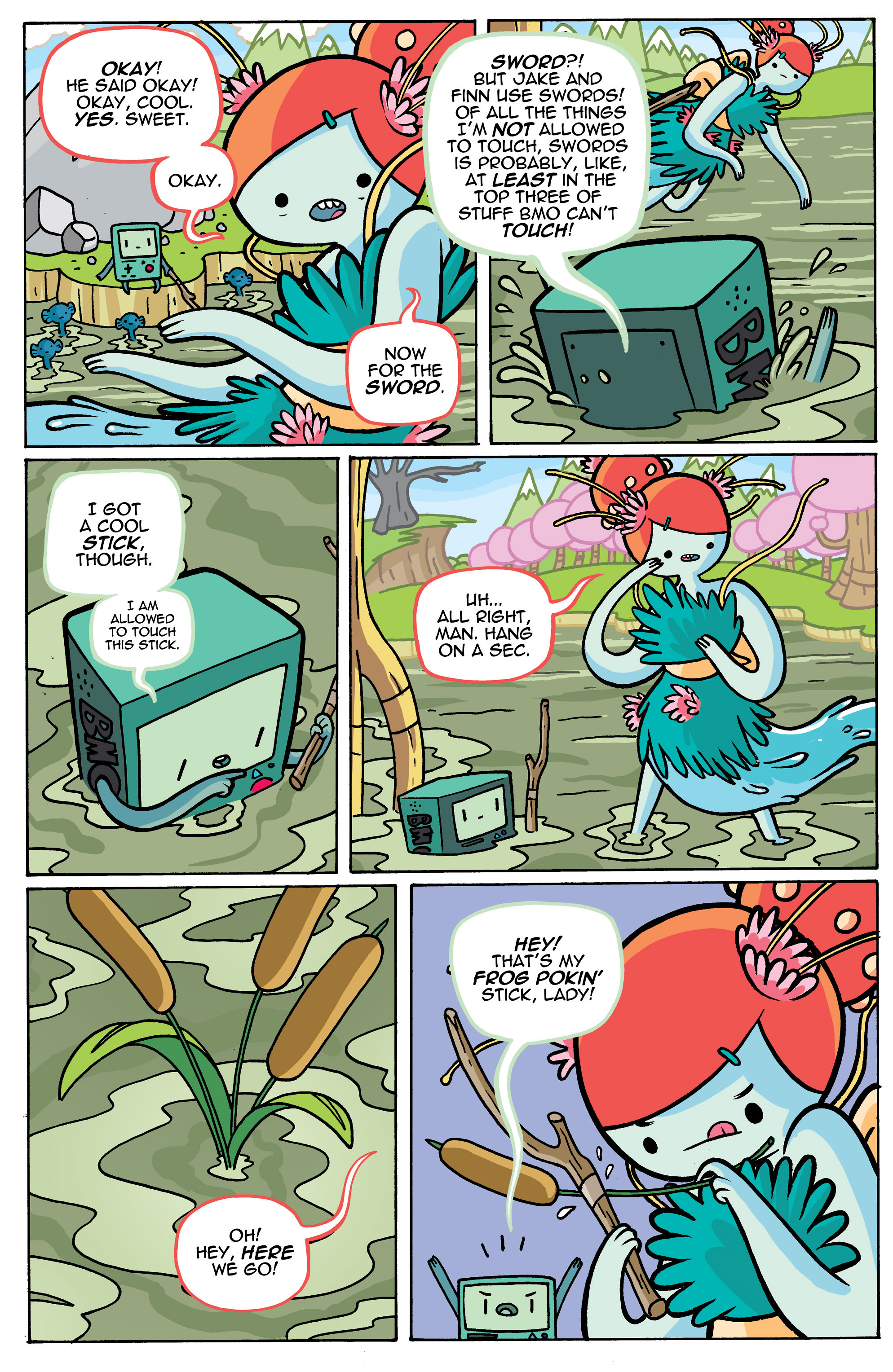 Read online Adventure Time comic -  Issue #42 - 23