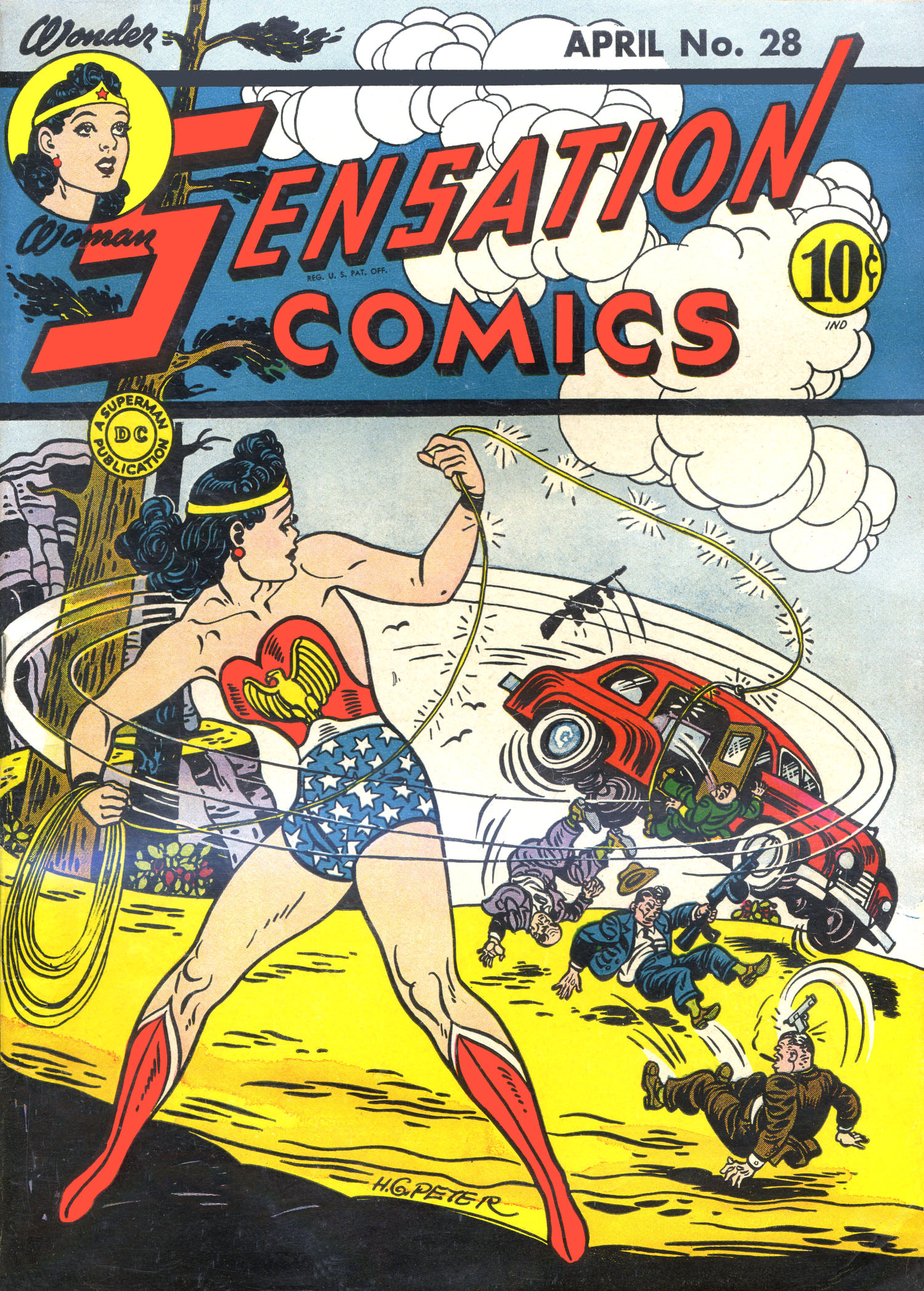 Read online Sensation (Mystery) Comics comic -  Issue #28 - 1