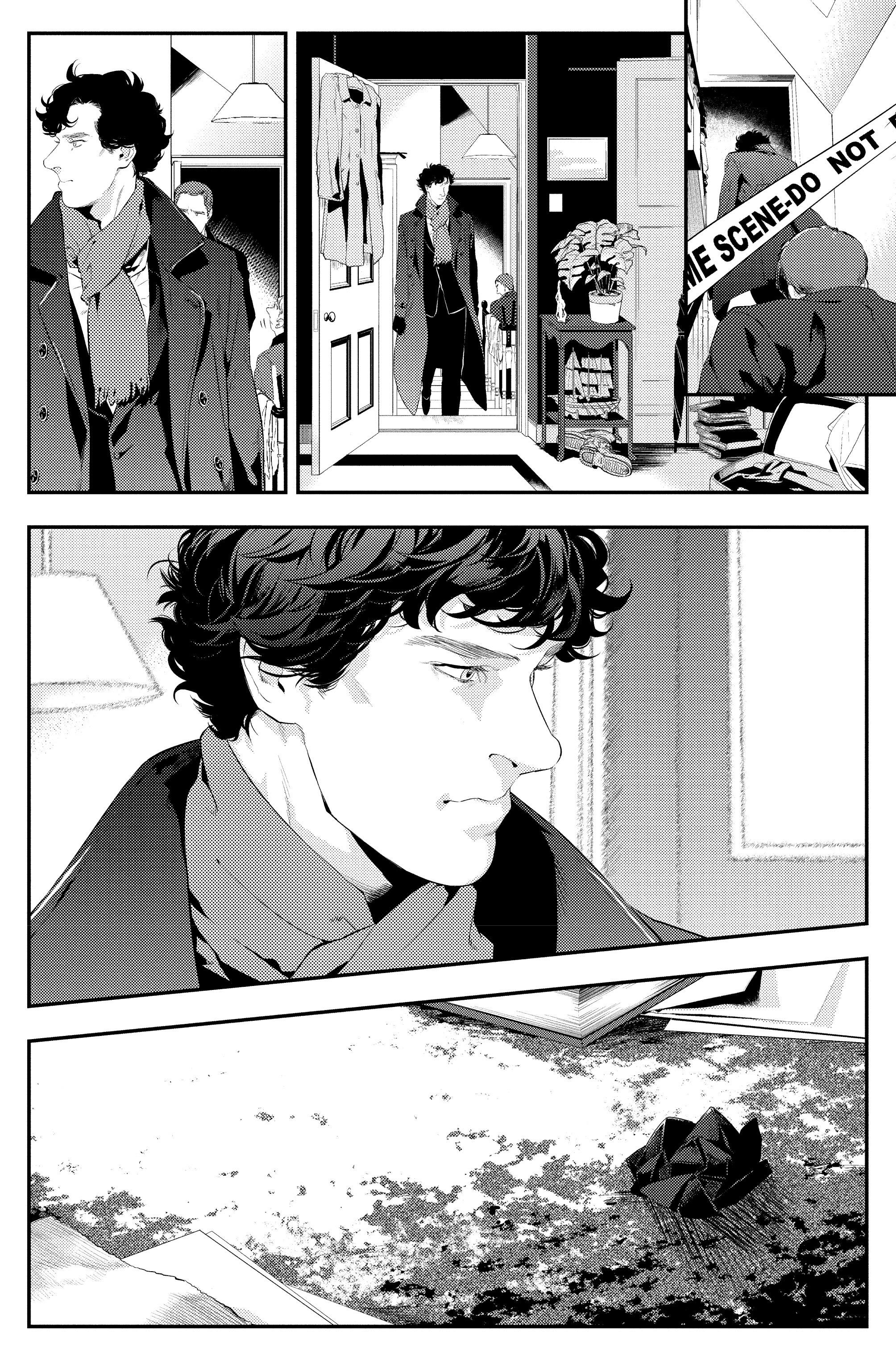 Read online Sherlock: The Blind Banker comic -  Issue #2 - 31