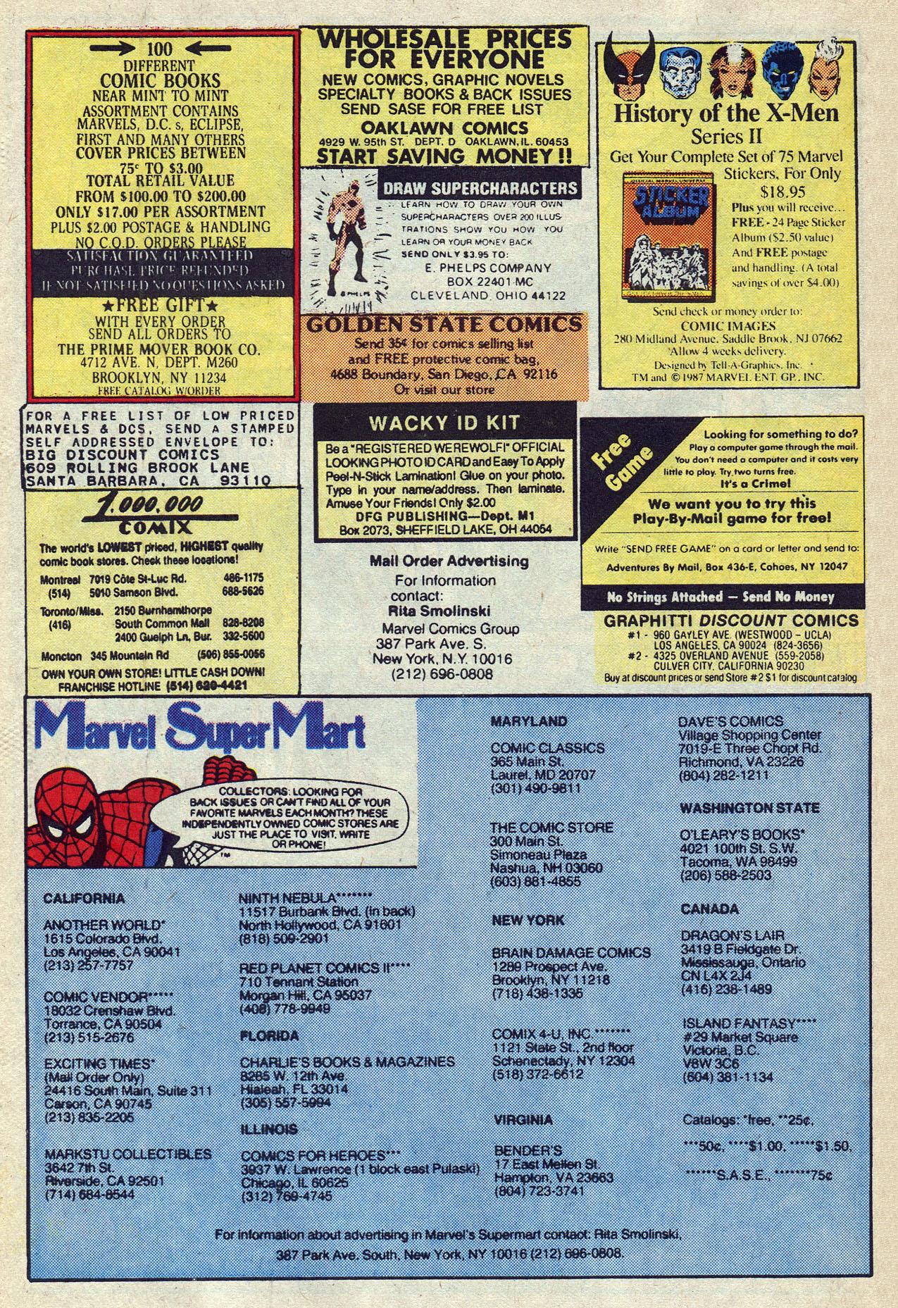Read online Alpha Flight (1983) comic -  Issue #57 - 29