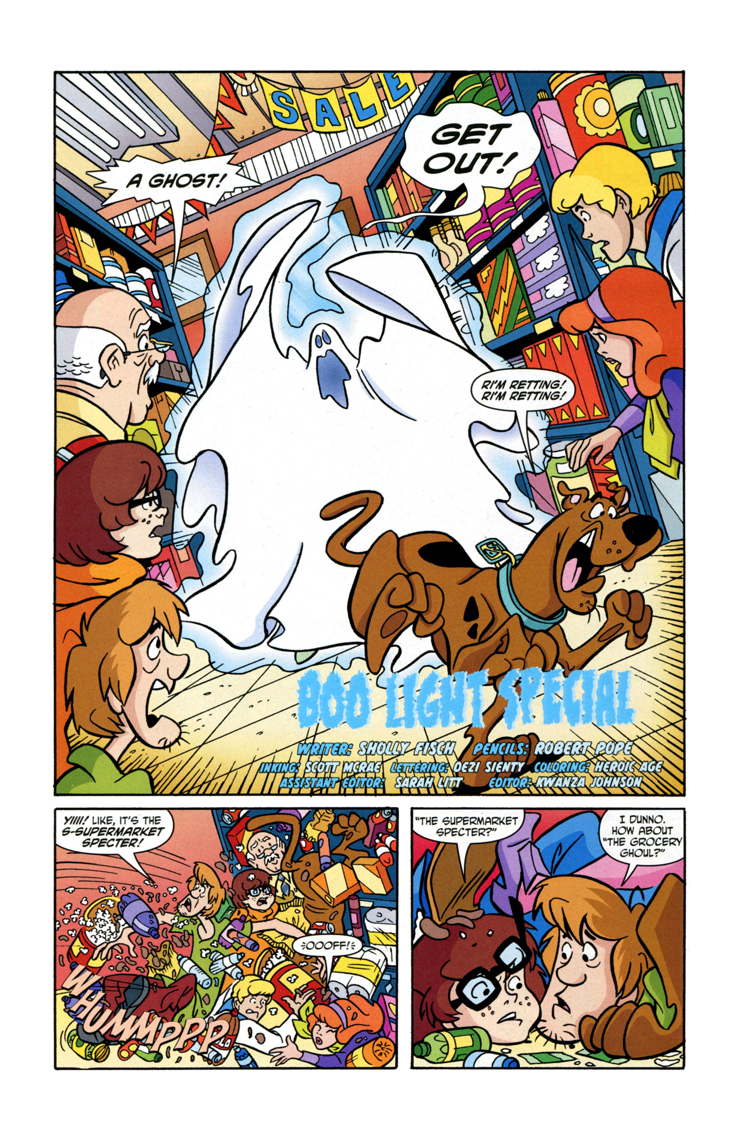 Read online Scooby-Doo: Where Are You? comic -  Issue #17 - 4