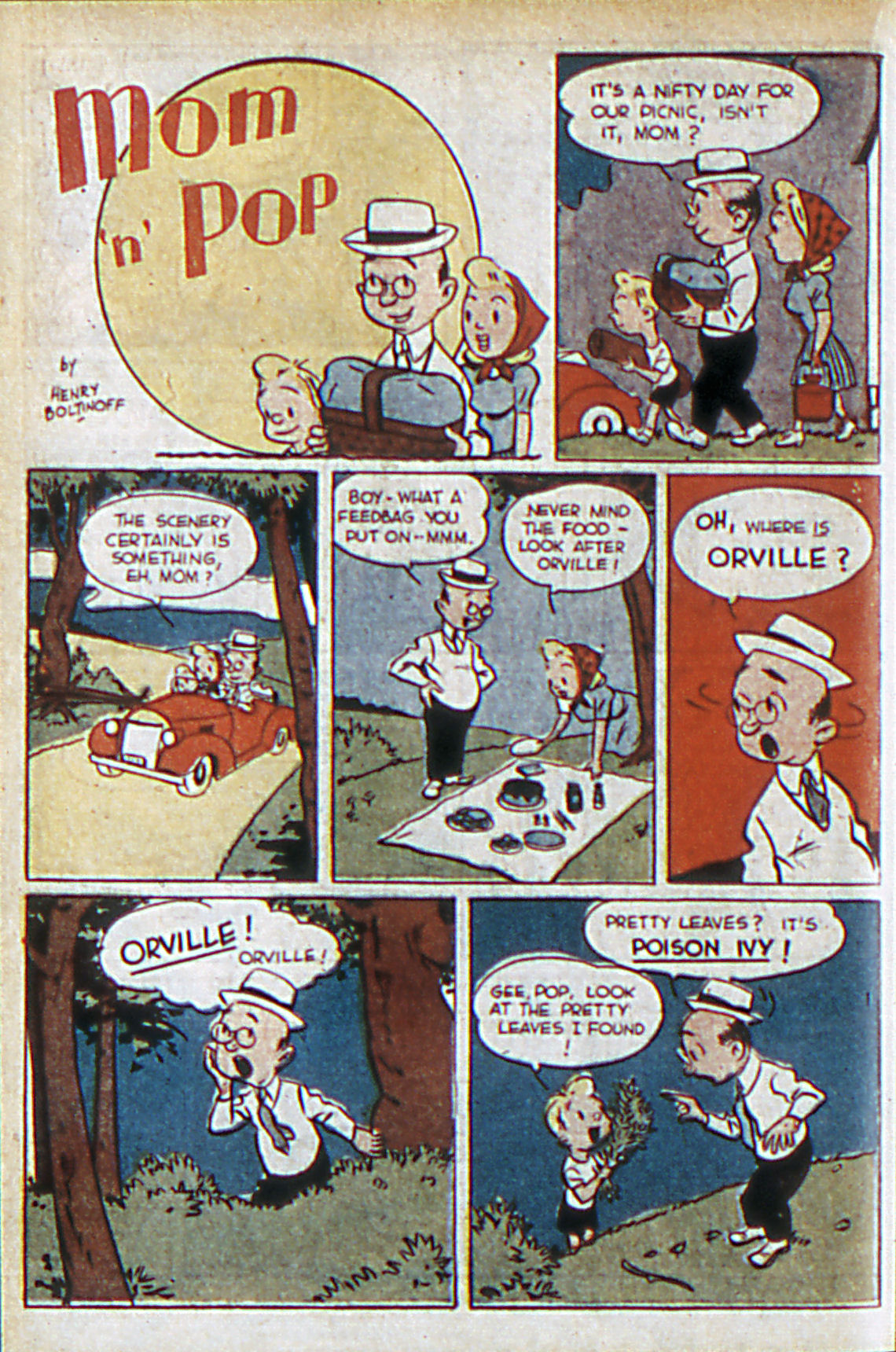Read online Adventure Comics (1938) comic -  Issue #60 - 39