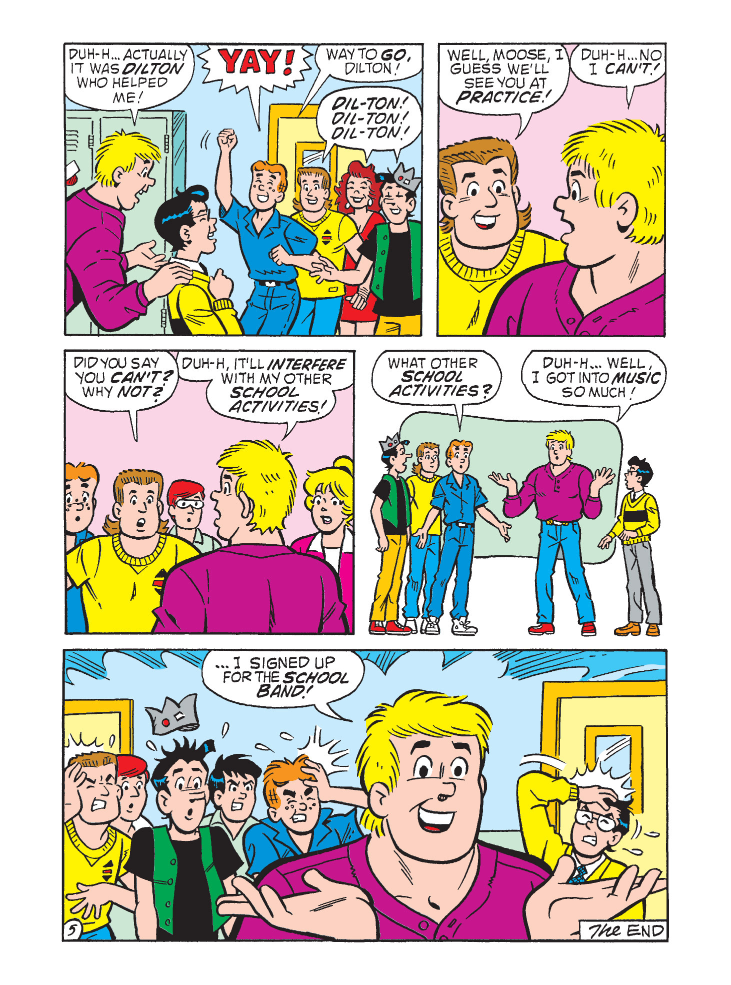 Read online Archie's Funhouse Double Digest comic -  Issue #9 - 121