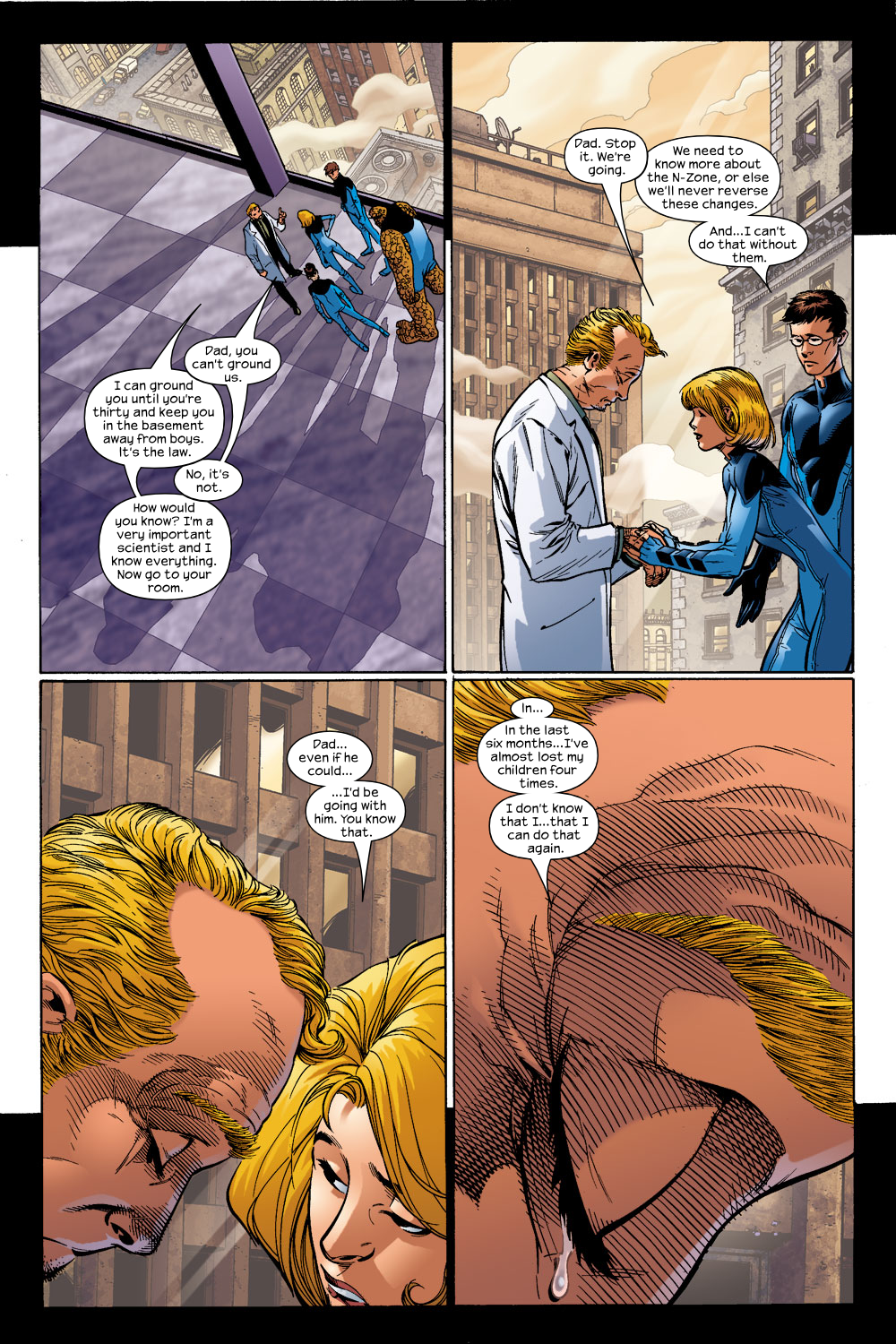 Read online Ultimate Fantastic Four (2004) comic -  Issue #14 - 8