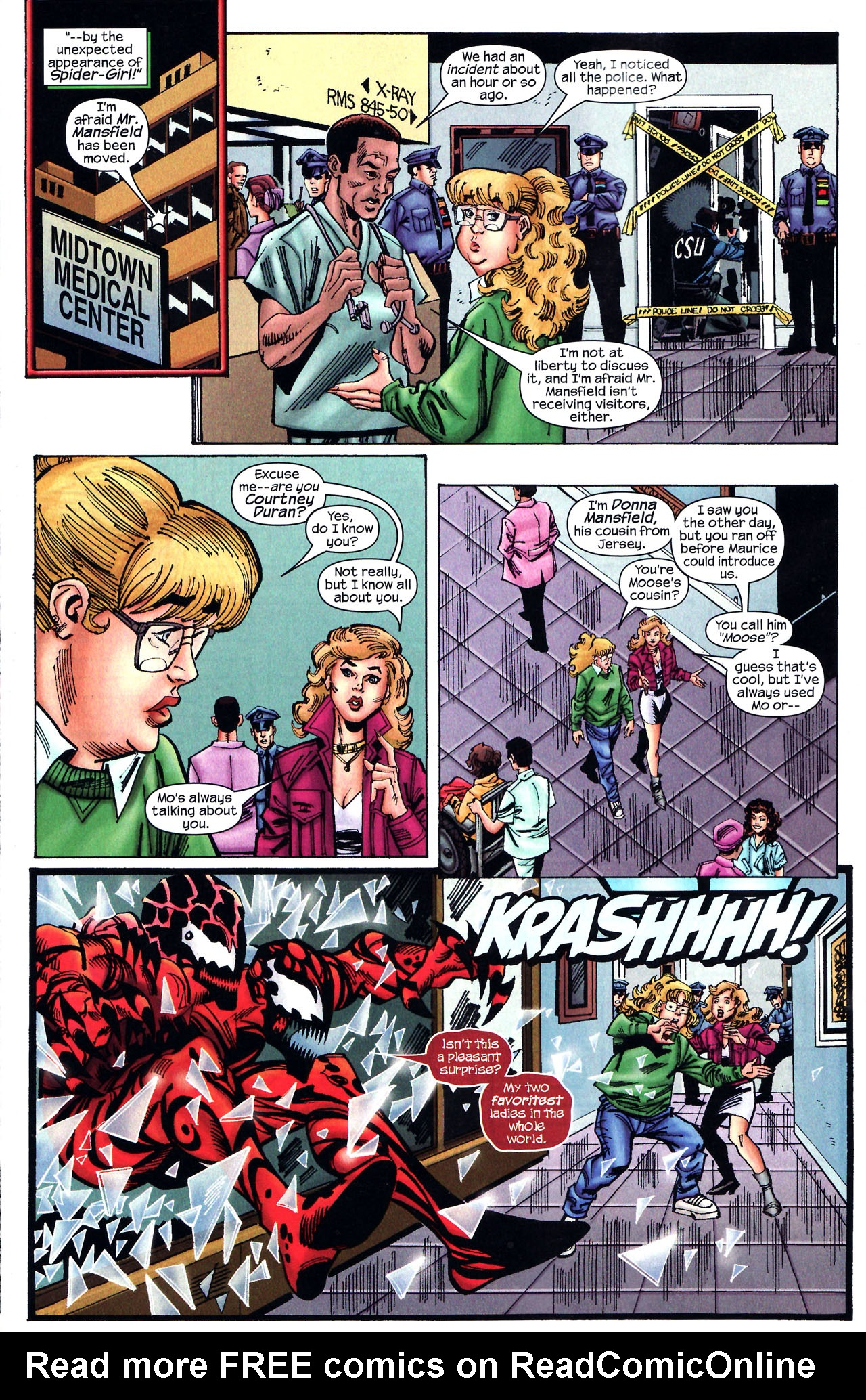 Read online Amazing Spider-Girl comic -  Issue #12 - 14