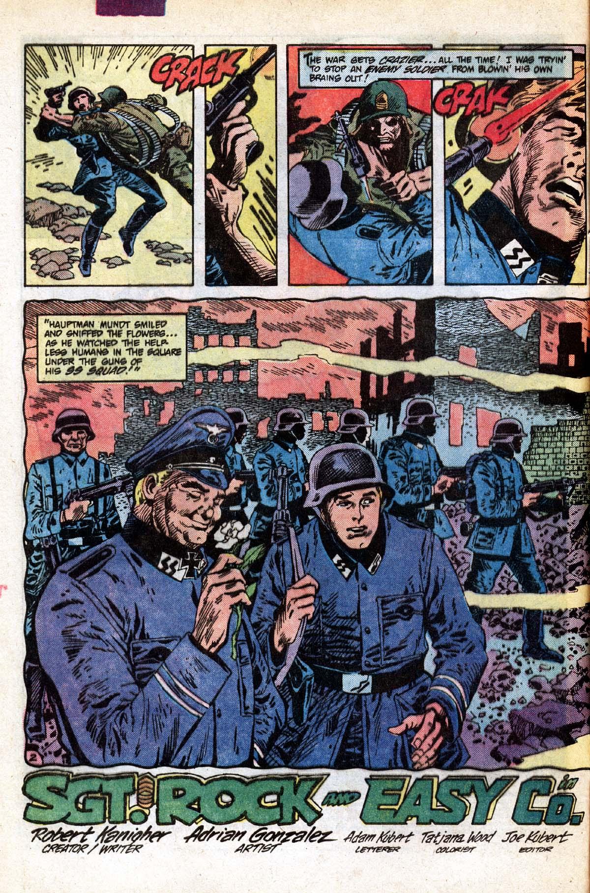 Read online Sgt. Rock comic -  Issue #391 - 3