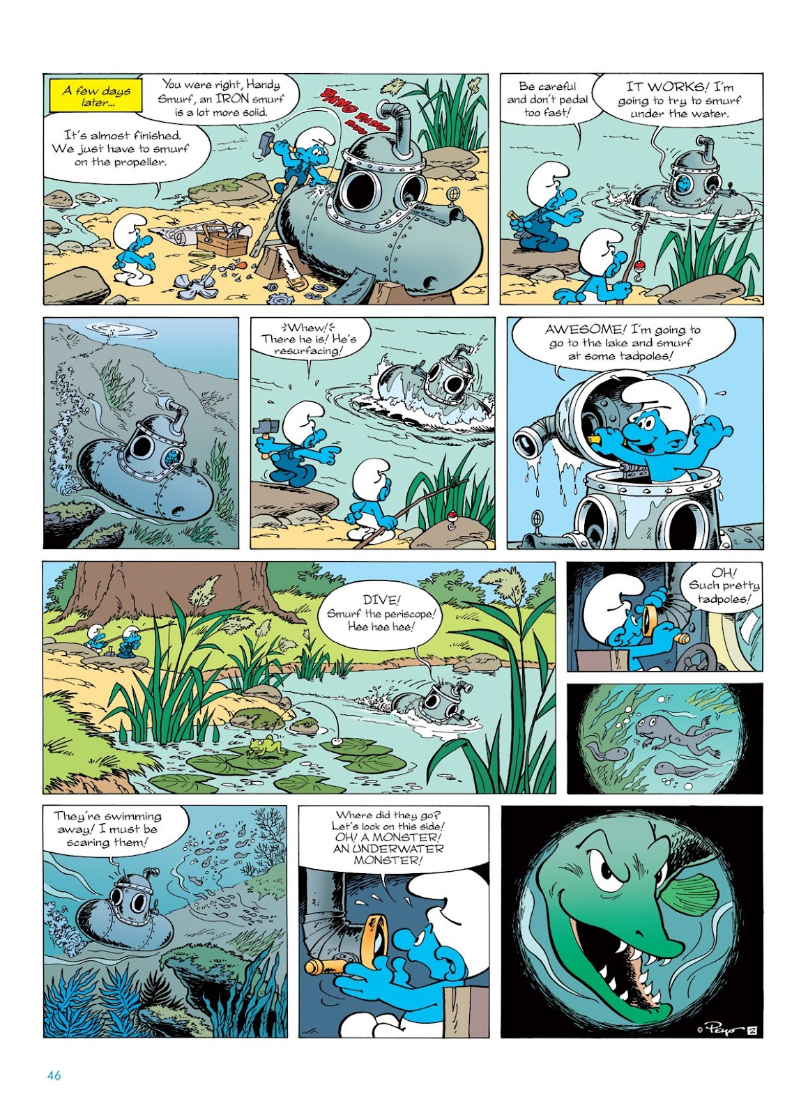 Read online The Smurfs comic -  Issue #7 - 46