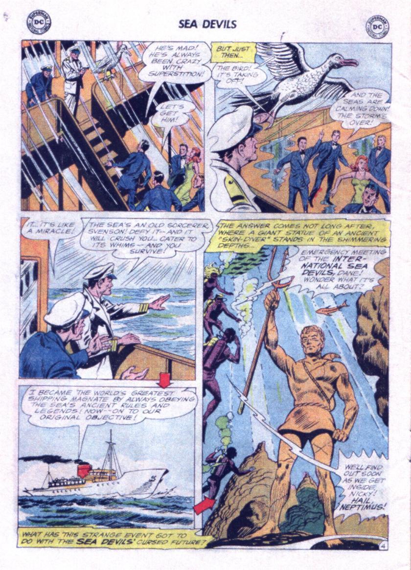 Read online Sea Devils comic -  Issue #23 - 6