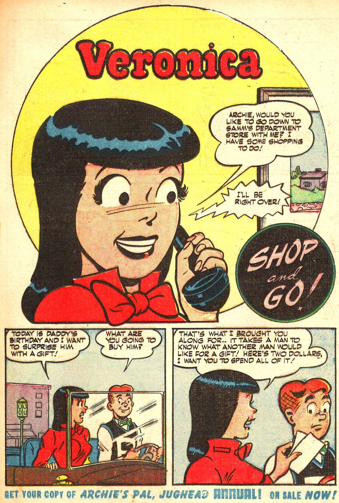 Read online Archie's Girls Betty and Veronica comic -  Issue #Archie's Girls Betty and Veronica Annual 1 - 73