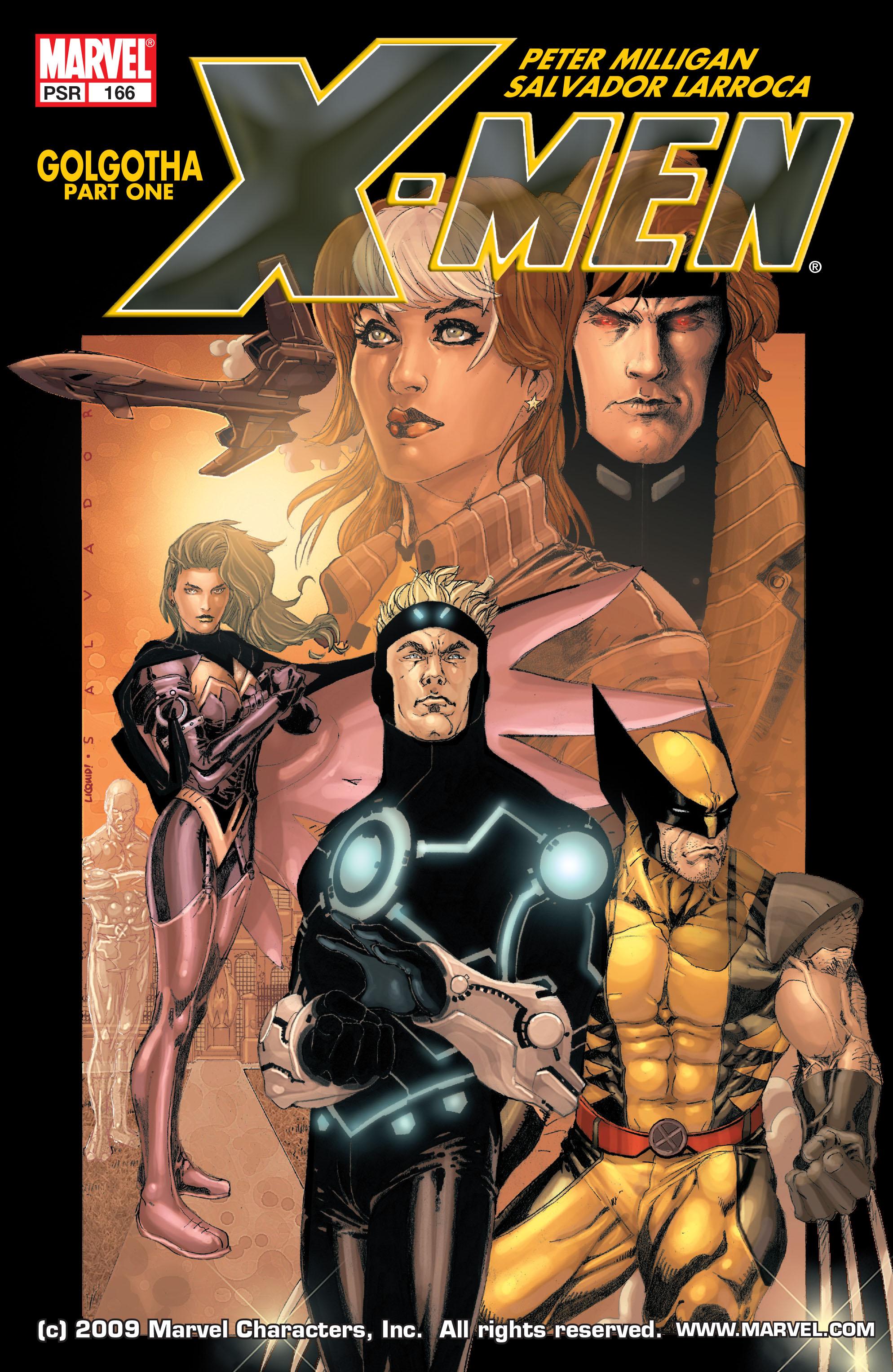 X-Men (1991) 166 Page 0