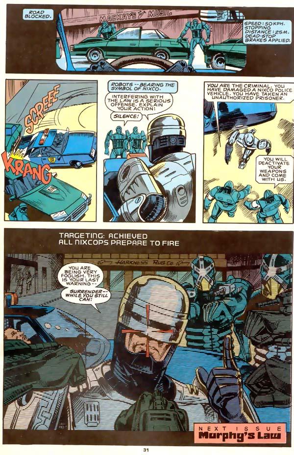 Read online Robocop (1990) comic -  Issue #1 - 23