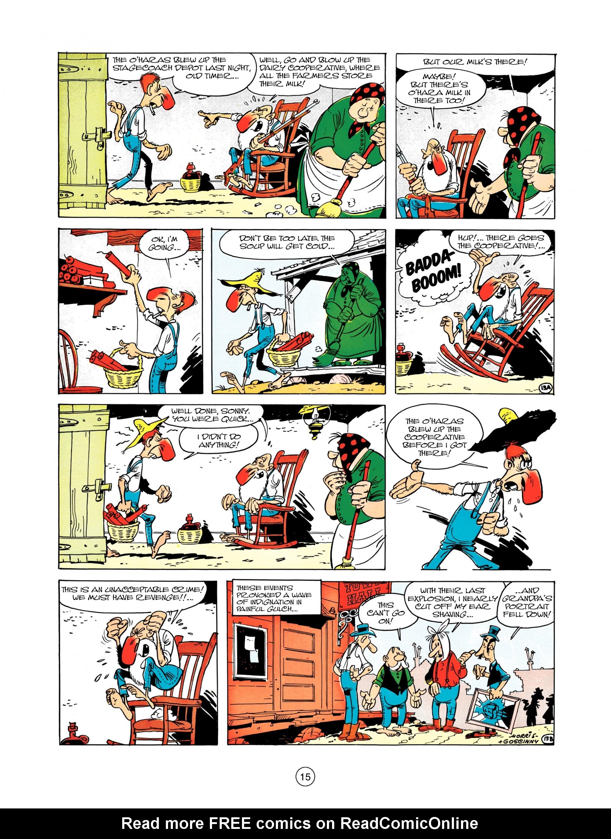 Read online A Lucky Luke Adventure comic -  Issue #12 - 15