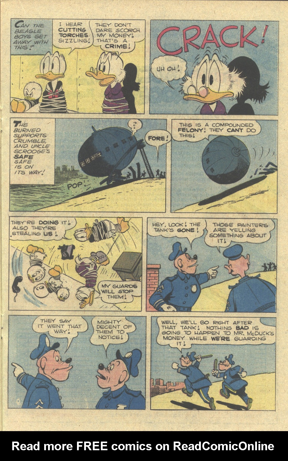 Read online Uncle Scrooge (1953) comic -  Issue #172 - 17