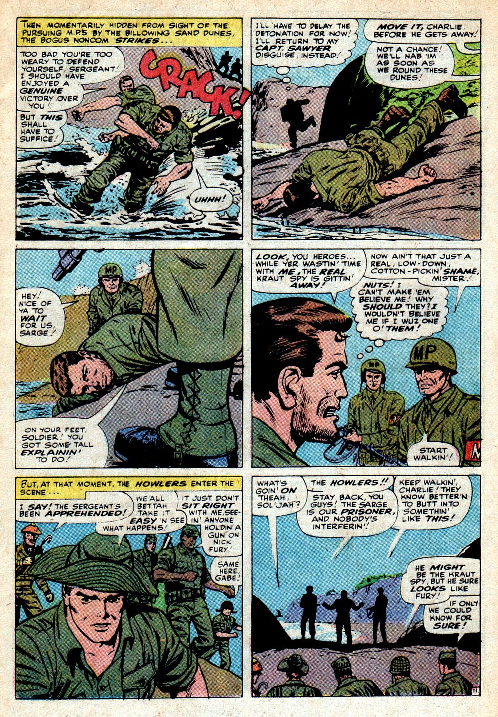 Read online Sgt. Fury comic -  Issue #85 - 17