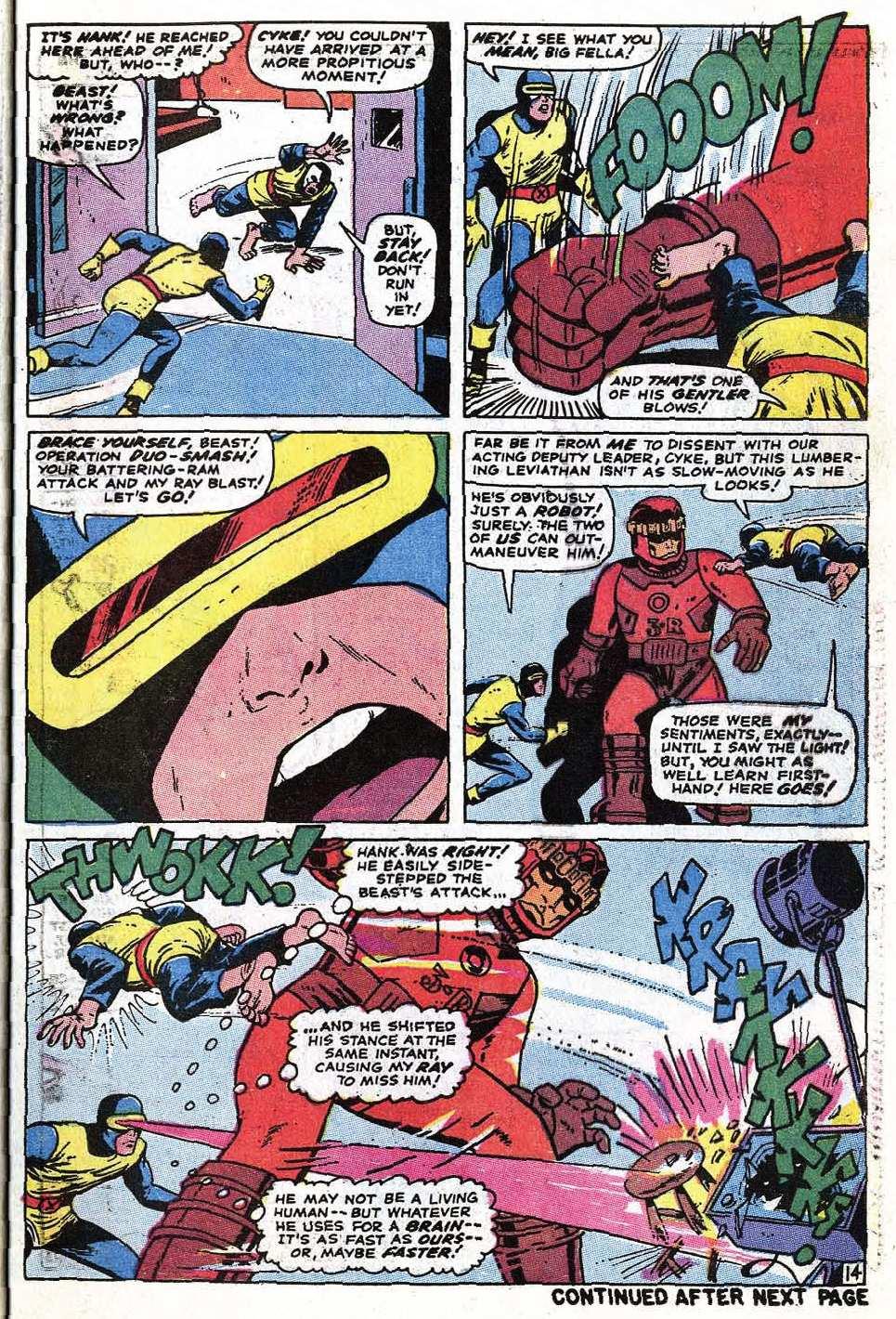 Uncanny X-Men (1963) 68 Page 16