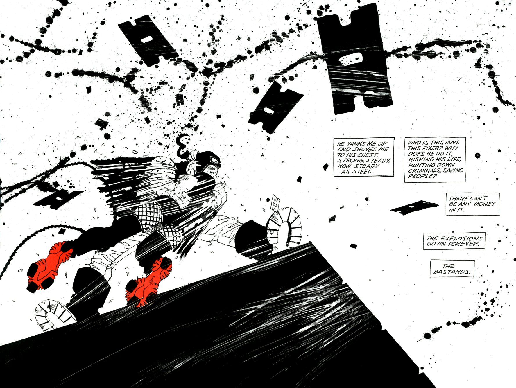 Read online Frank Miller's Holy Terror comic -  Issue # TPB - 54