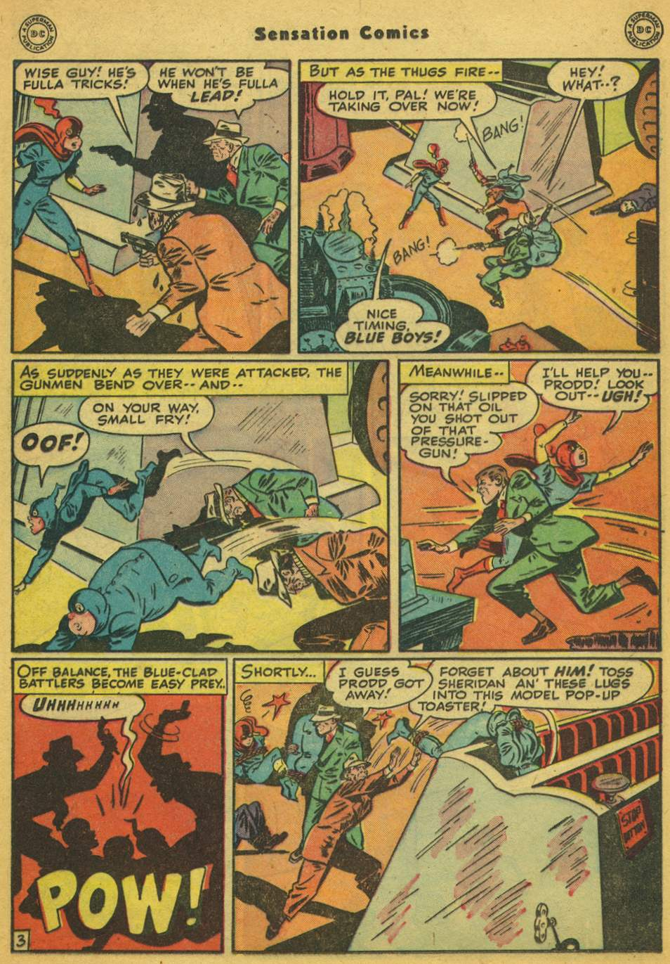 Read online Sensation (Mystery) Comics comic -  Issue #80 - 18
