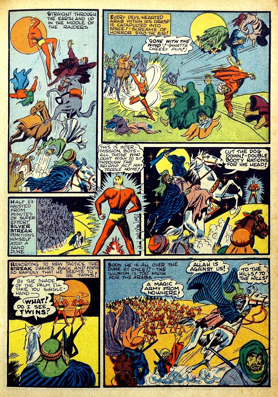 Read online Silver Streak Comics comic -  Issue #22 - 31