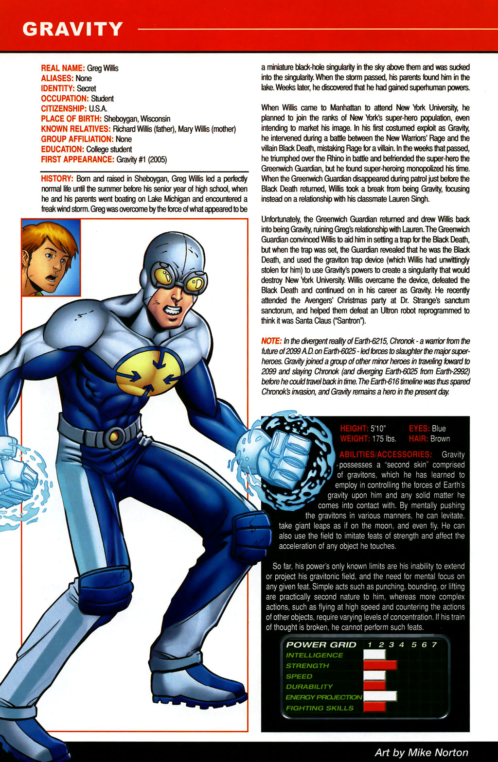 Read online All-New Official Handbook of the Marvel Universe A to Z comic -  Issue #5 - 8