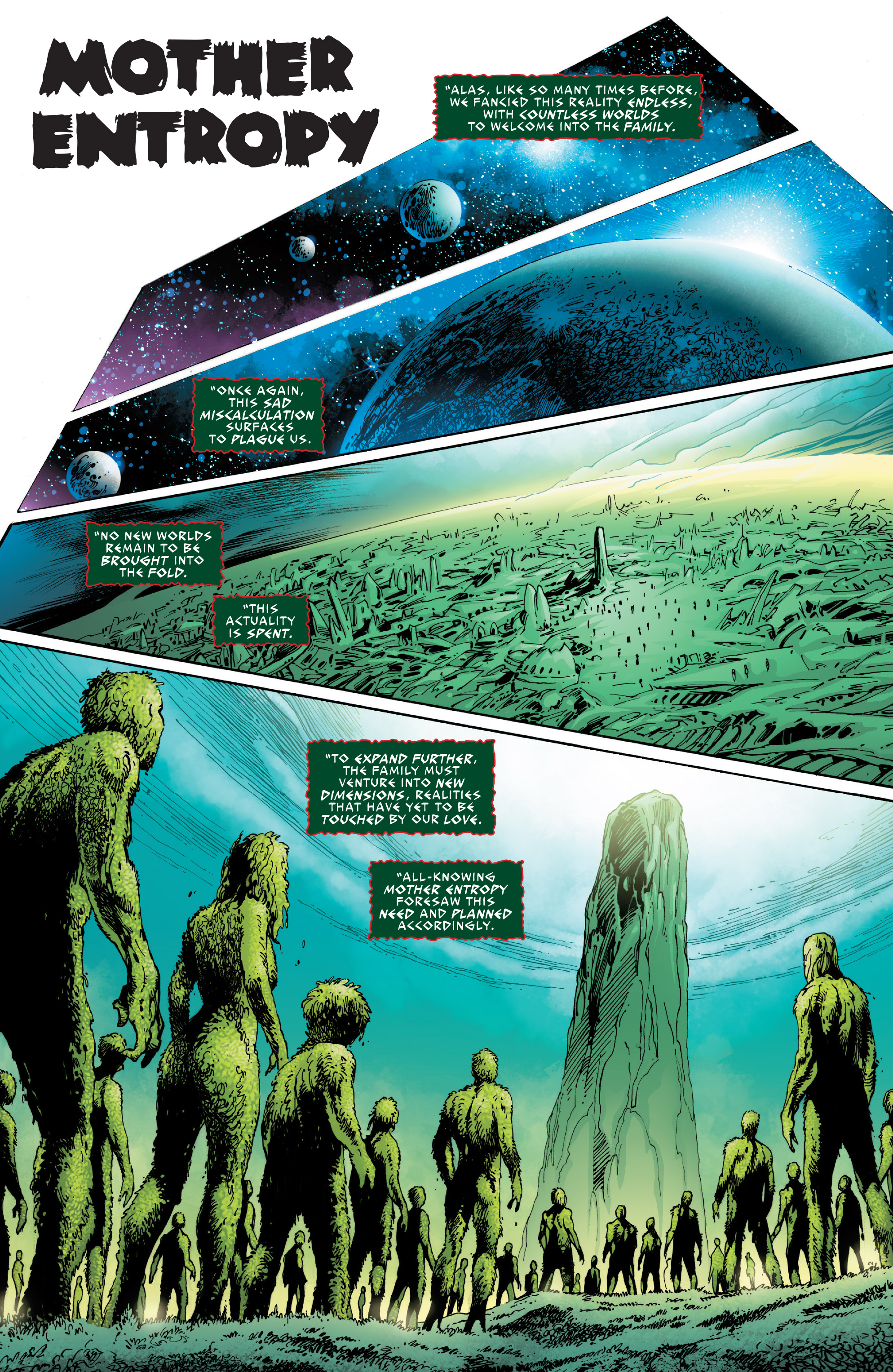 Read online Guardians of the Galaxy: Mother Entropy comic -  Issue #1 - 3