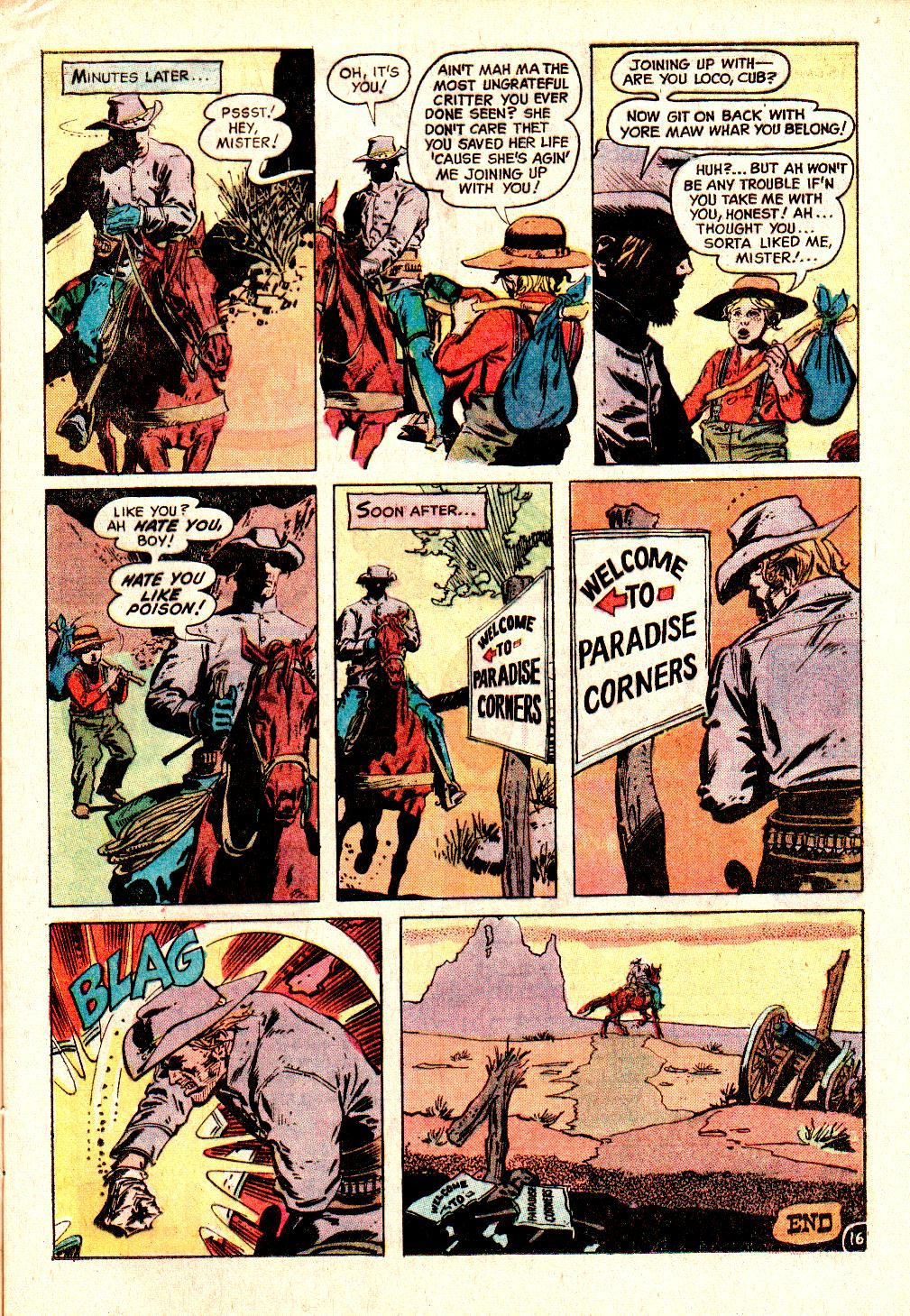 Read online All-Star Western (1970) comic -  Issue #10 - 19