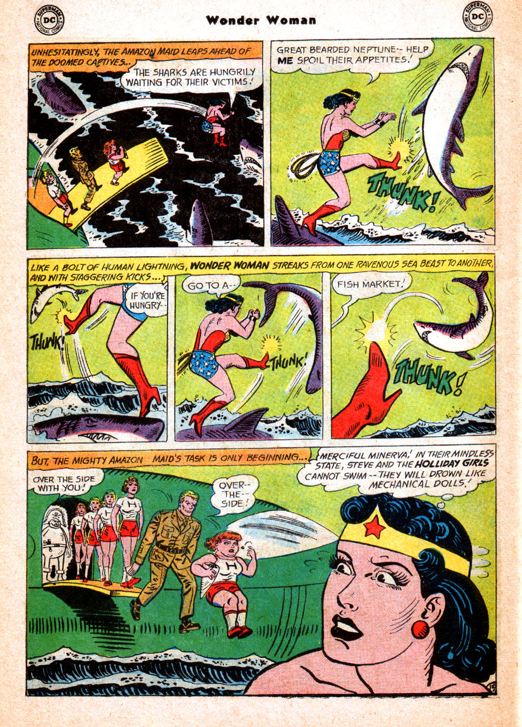 Read online Wonder Woman (1942) comic -  Issue #156 - 22