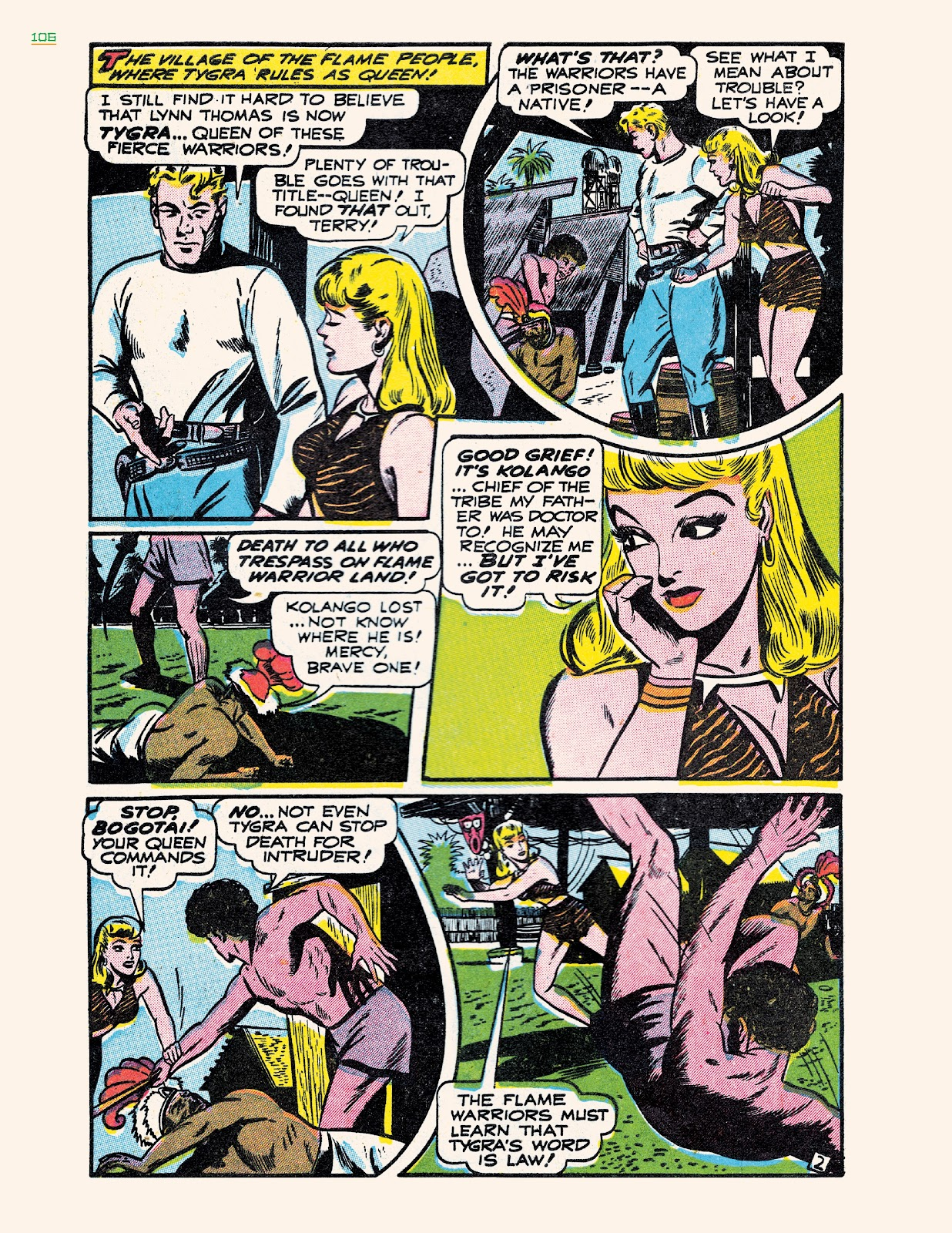 Read online Jungle Girls comic -  Issue # TPB (Part 2) - 6