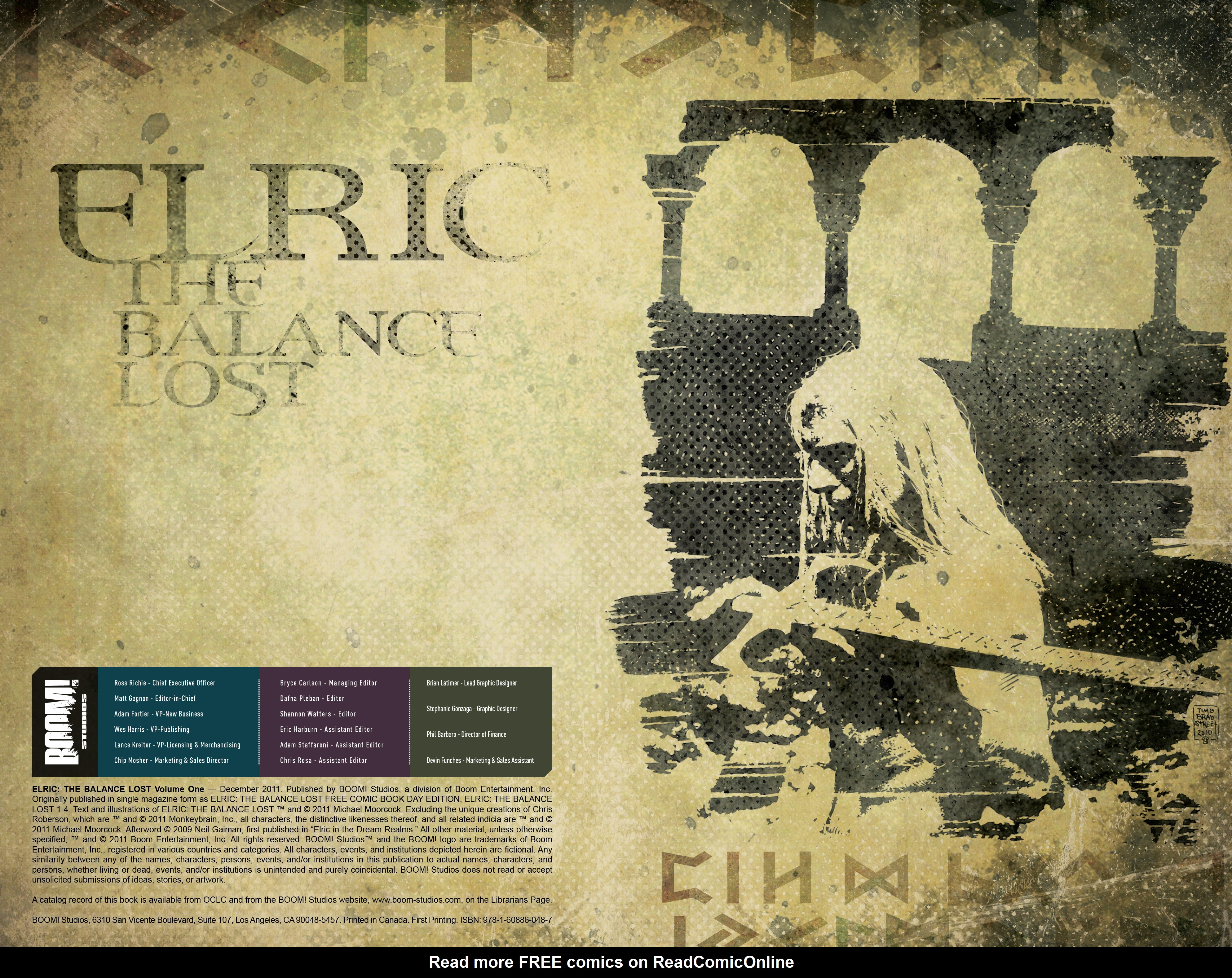 Read online Elric: The Balance Lost comic -  Issue # TPB 1 - 3