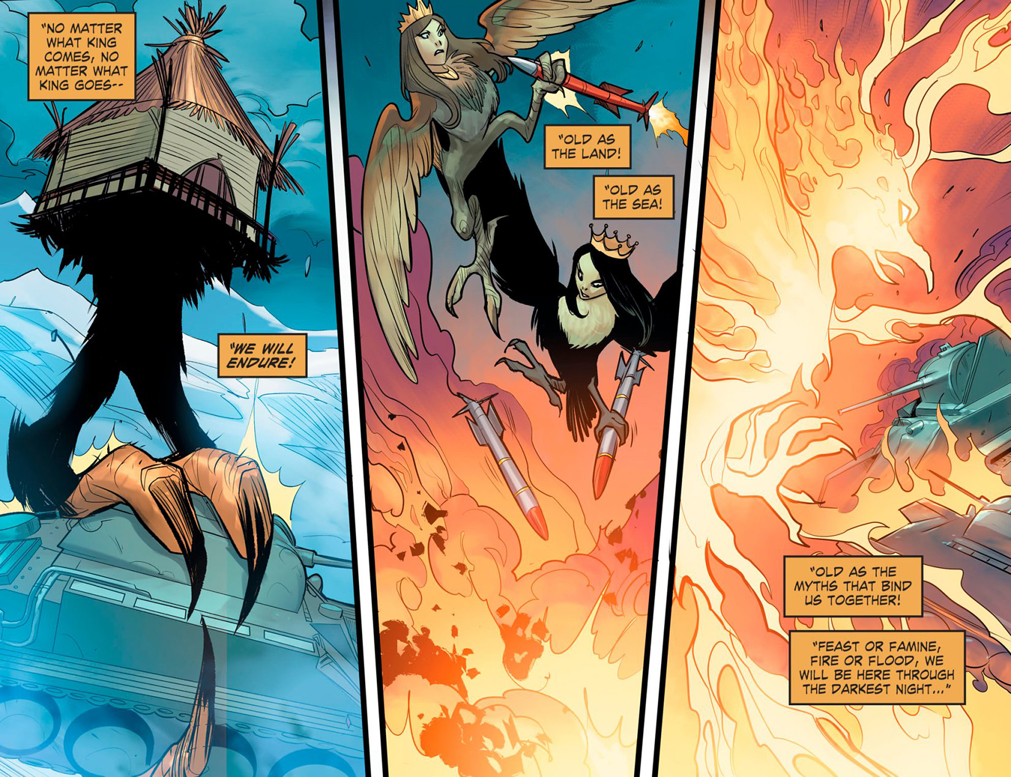 Read online DC Comics: Bombshells comic -  Issue #95 - 19