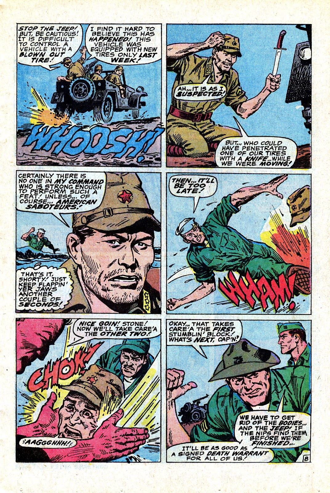 Captain Savage and his Leatherneck Raiders issue 18 - Page 13