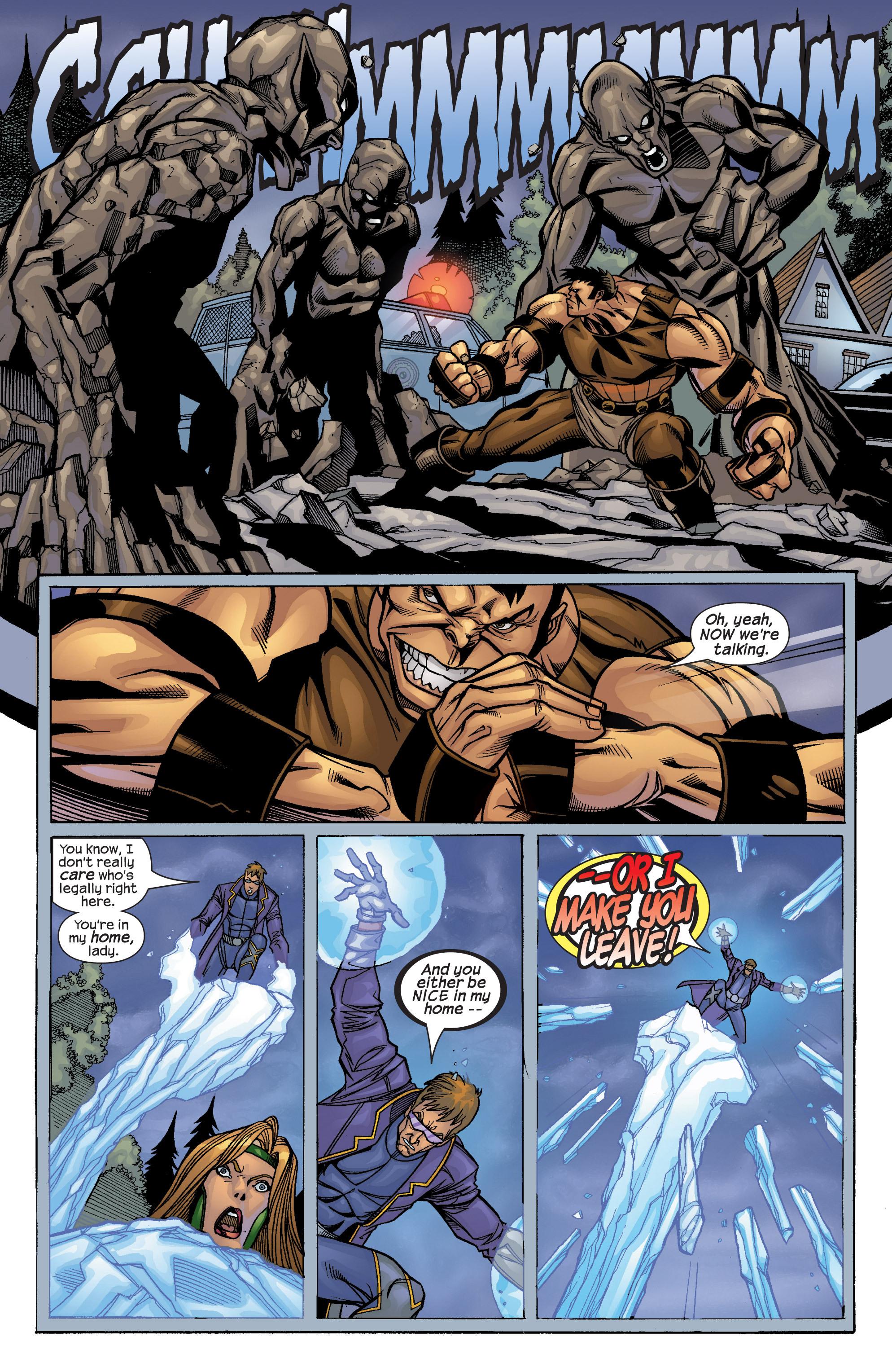 Read online Uncanny X-Men (1963) comic -  Issue #422 - 25
