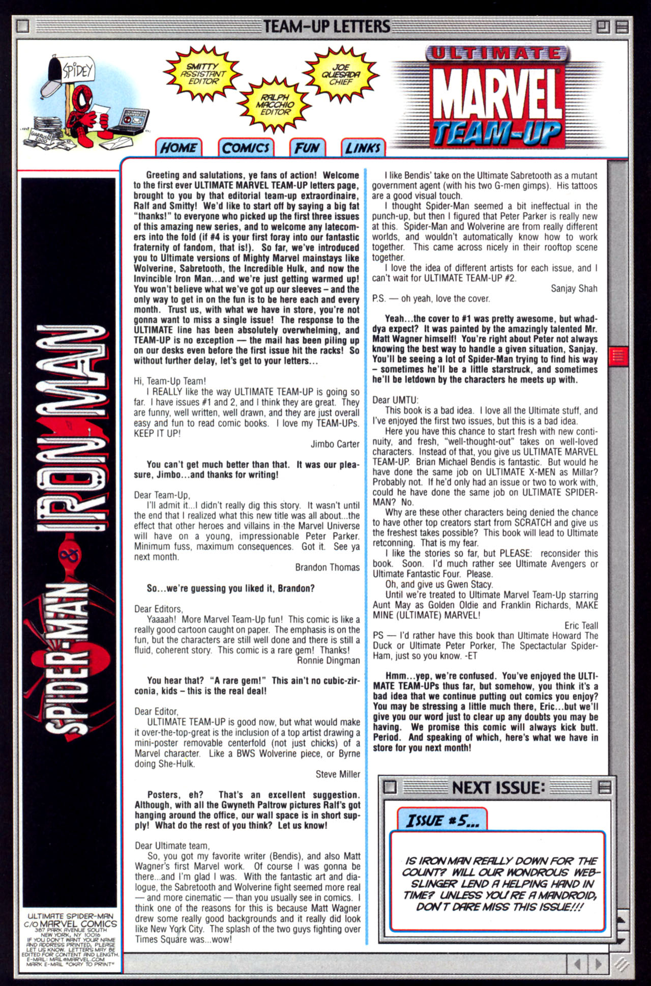 Read online Ultimate Marvel Team-Up comic -  Issue #4 - 33