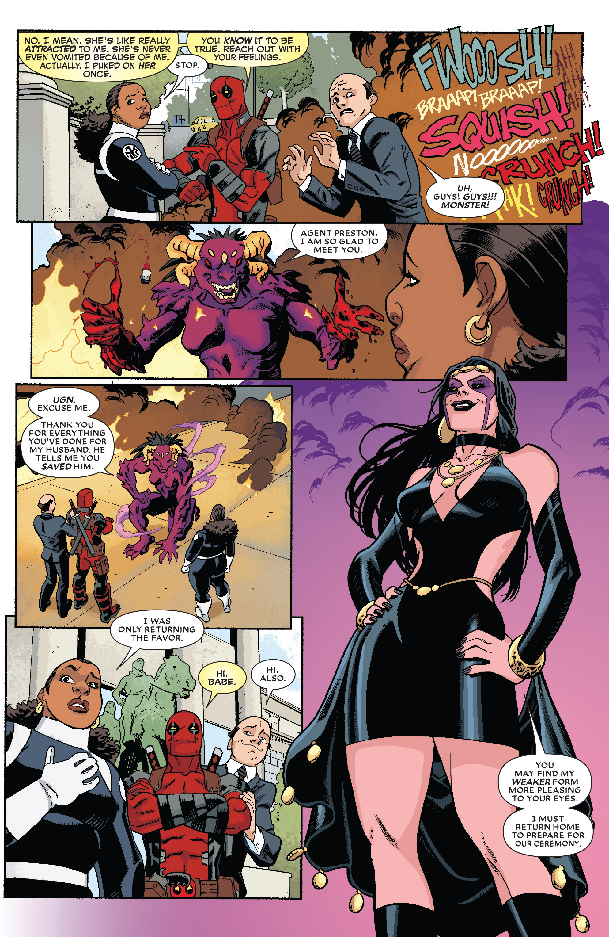 Read online True Believers: The Wedding of Deadpool comic -  Issue # Full - 8