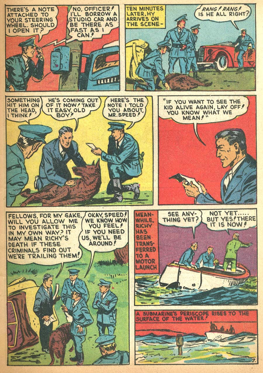 Blue Ribbon Comics (1939) issue 8 - Page 9