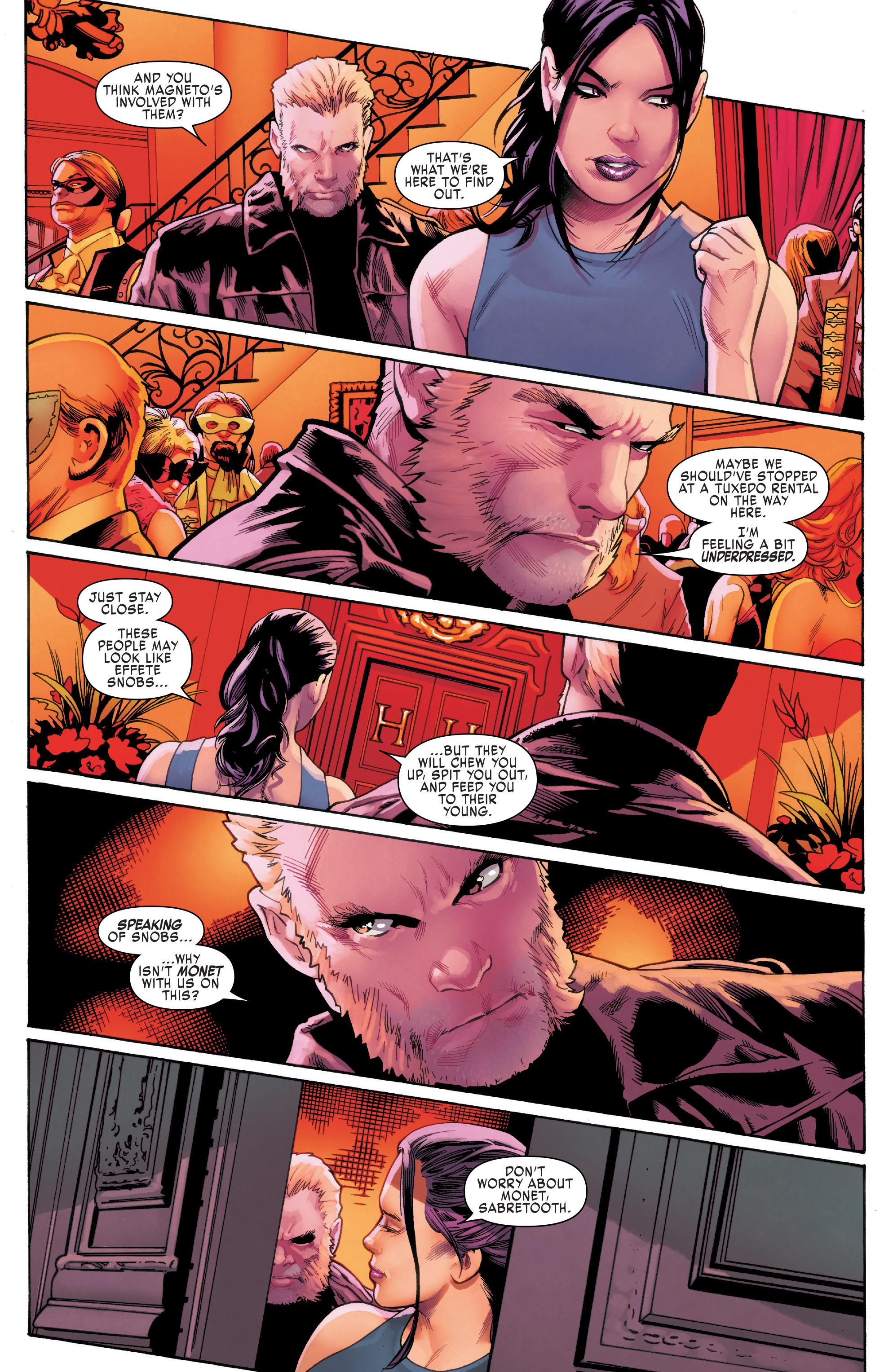 Read online Uncanny X-Men (2016) comic -  Issue #11 - 20
