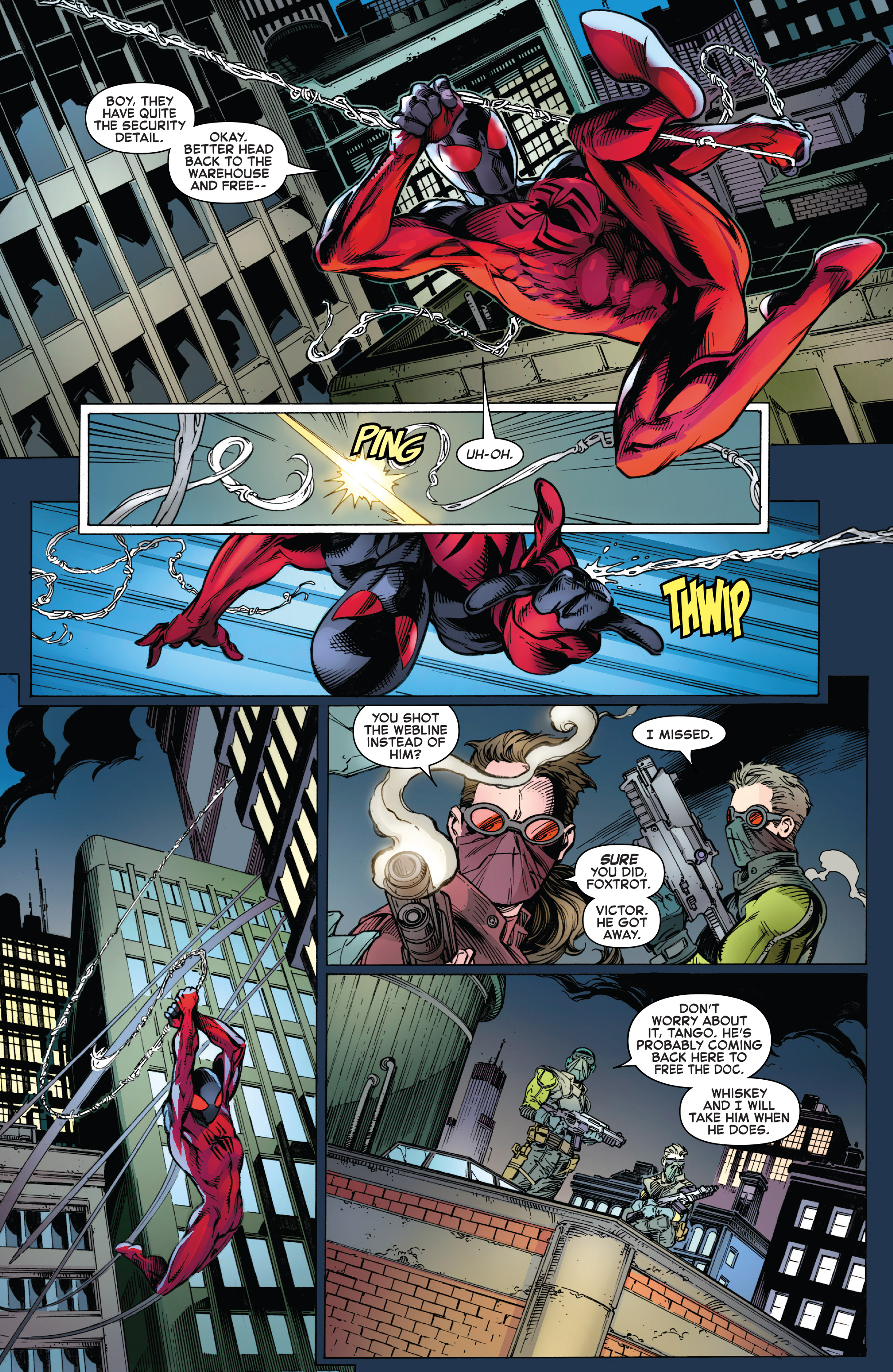 Read online Ben Reilly: Scarlet Spider comic -  Issue #3 - 6