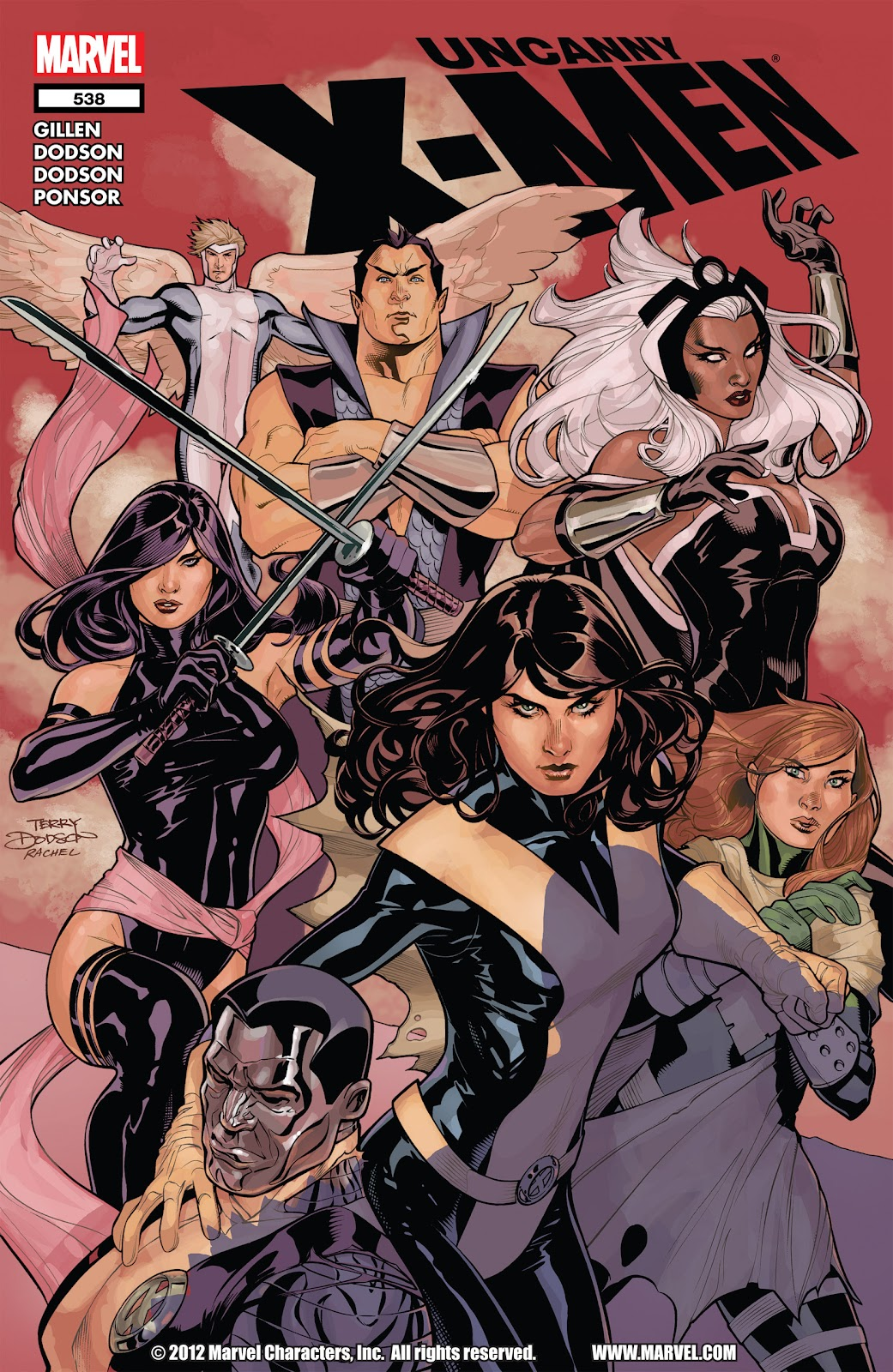 Uncanny X-Men (1963) issue 538 - Page 1