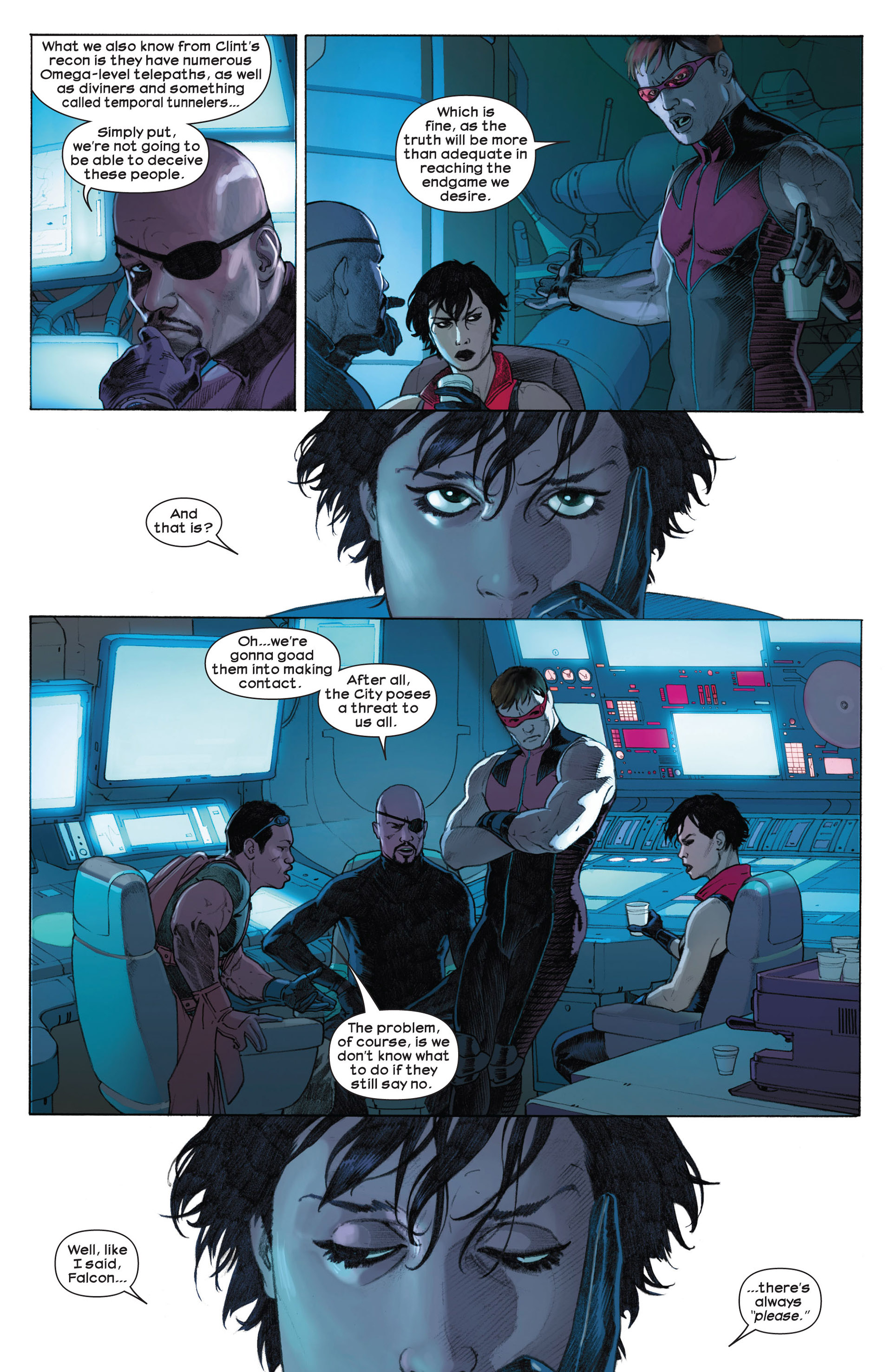 Read online Ultimate Comics Ultimates comic -  Issue #7 - 8