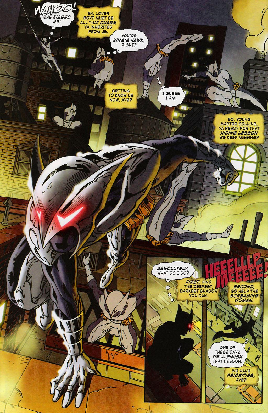 Read online ShadowHawk (2005) comic -  Issue #3 - 18