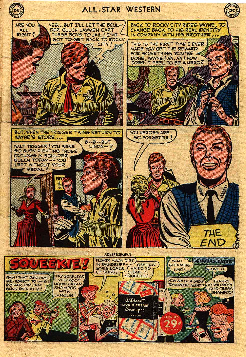 Read online All-Star Western (1951) comic -  Issue #62 - 32
