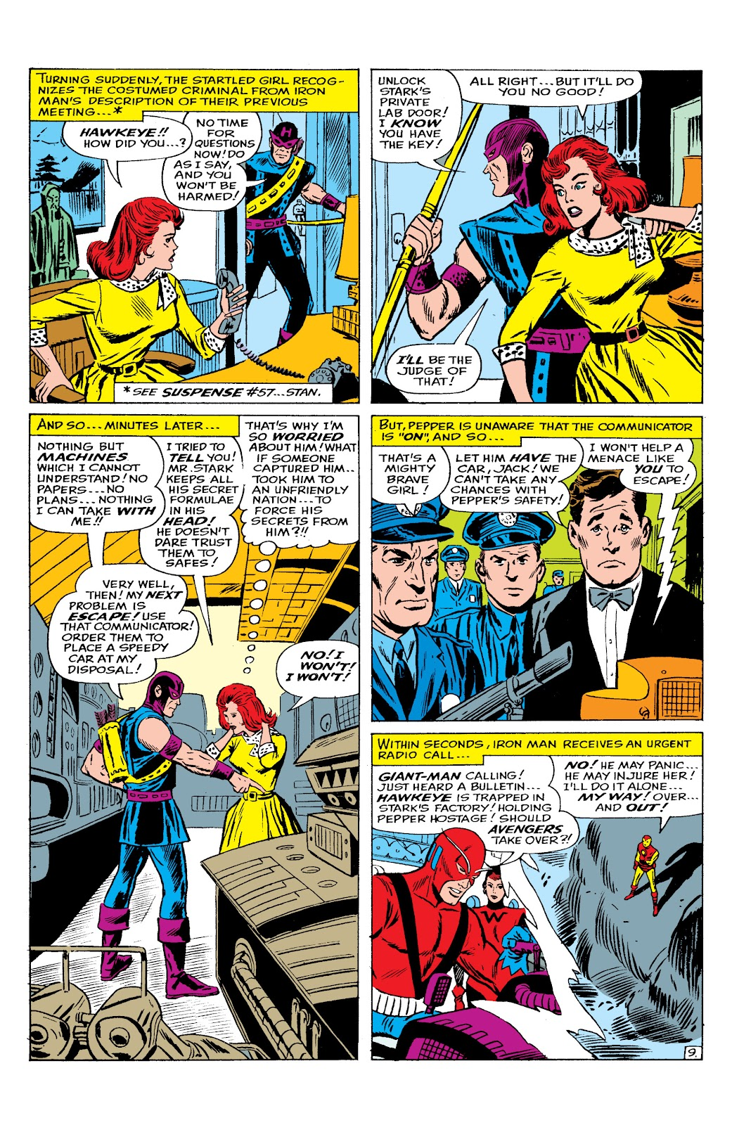 Read online Marvel Masterworks: The Invincible Iron Man comic -  Issue # TPB 2 (Part 2) - 65