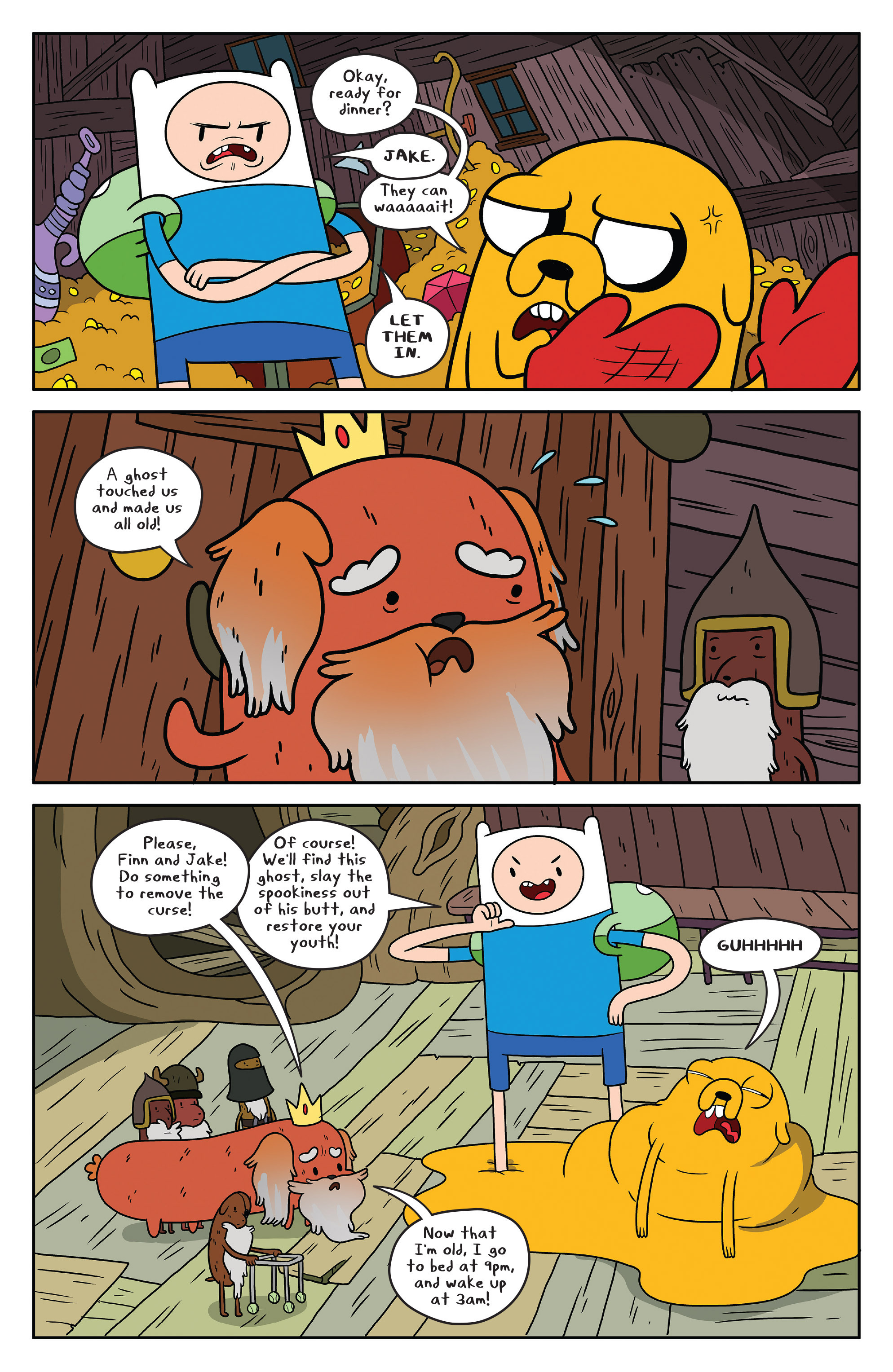 Read online Adventure Time comic -  Issue #51 - 9