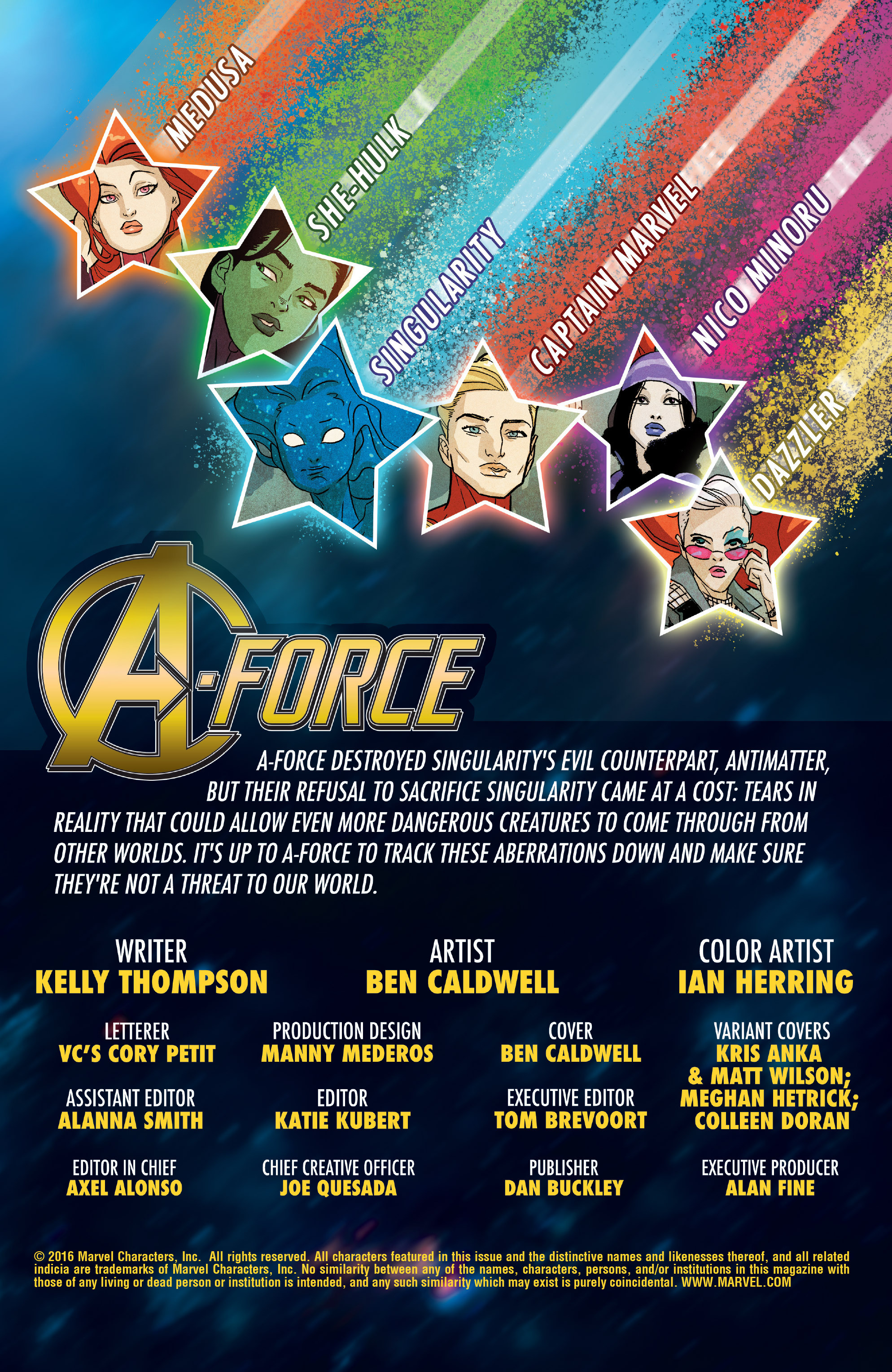 Read online A-Force (2016) comic -  Issue #5 - 3
