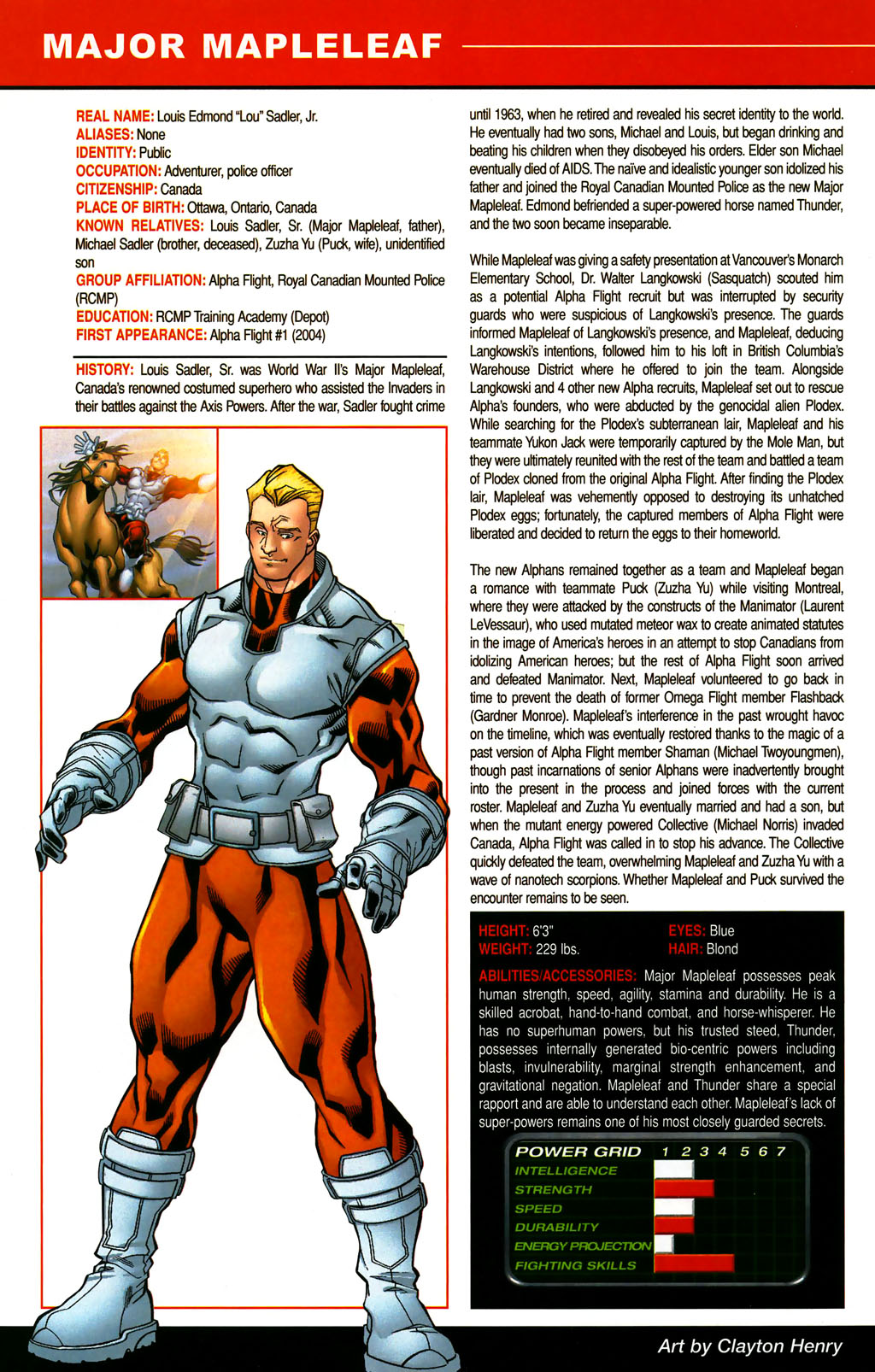 Read online All-New Official Handbook of the Marvel Universe A to Z comic -  Issue #6 - 62