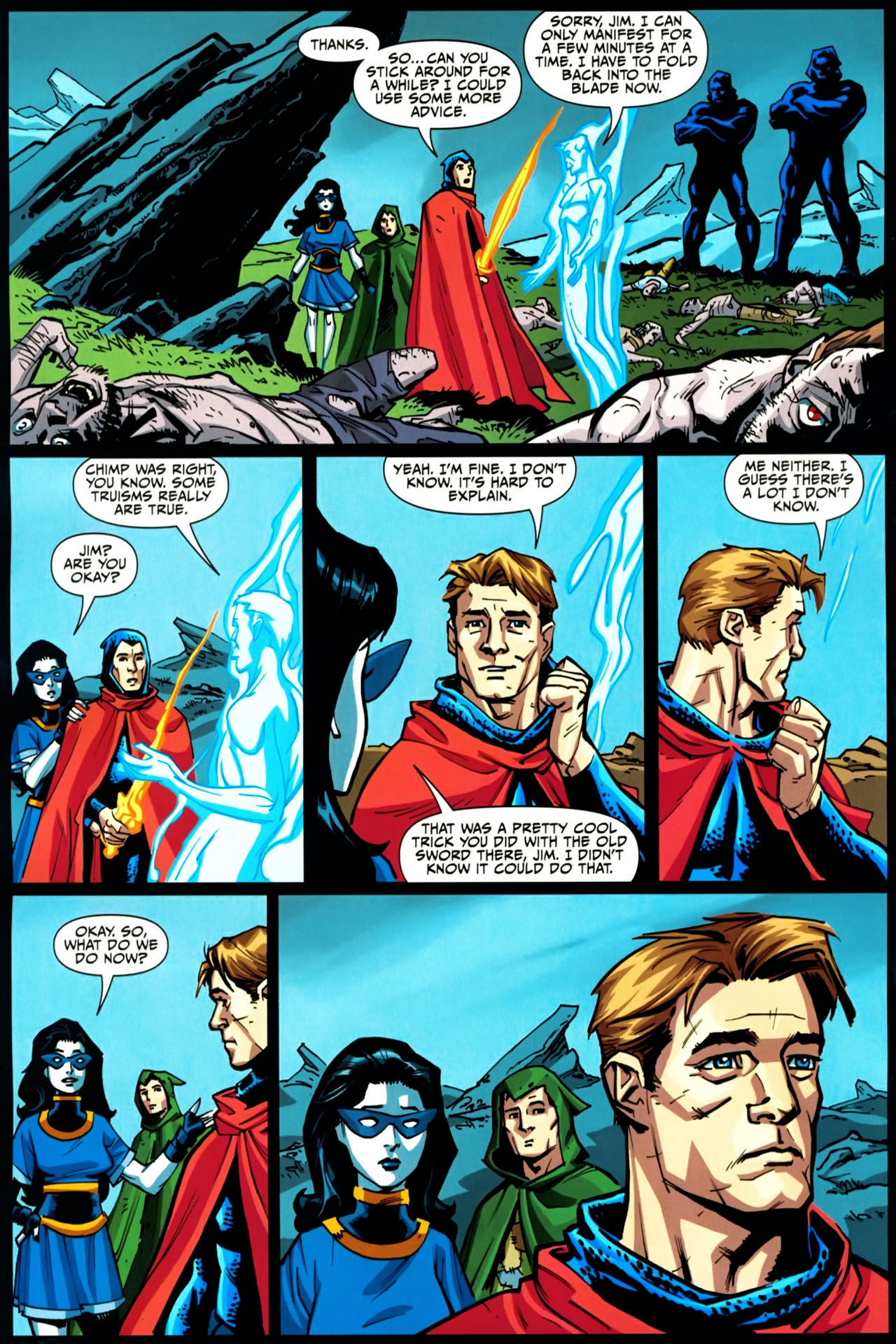 Read online Shadowpact comic -  Issue #20 - 7