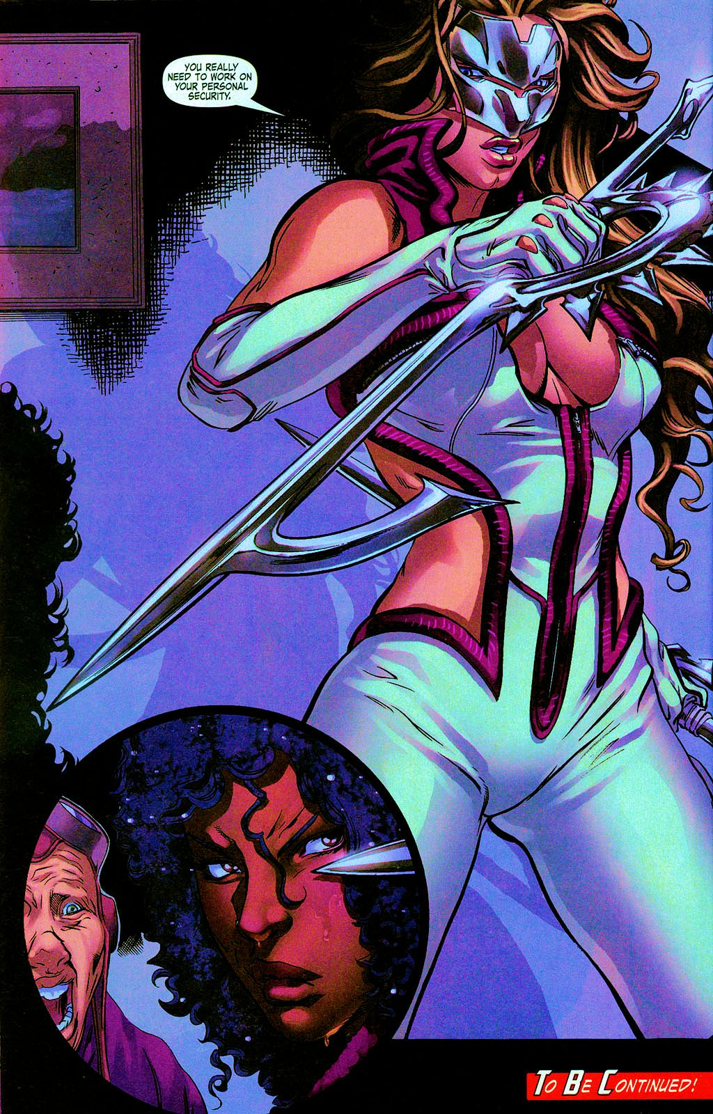 Read online Daughters of the Dragon comic -  Issue #3 - 24