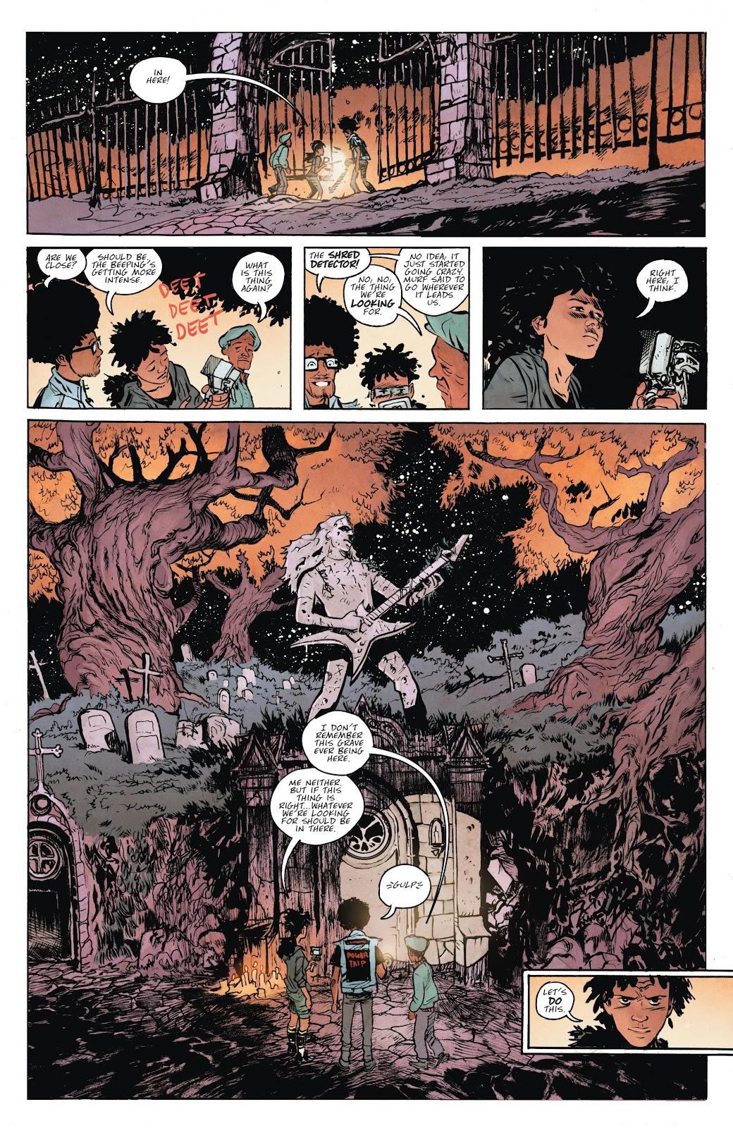Read online Murder Falcon comic -  Issue #5 - 10