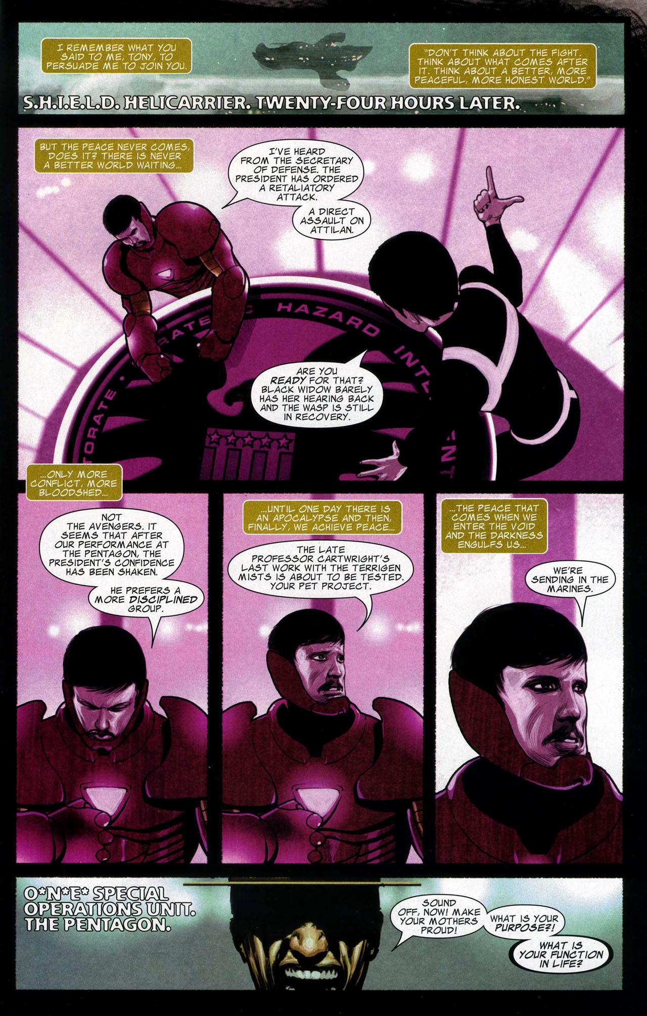 Read online Silent War comic -  Issue #5 - 22