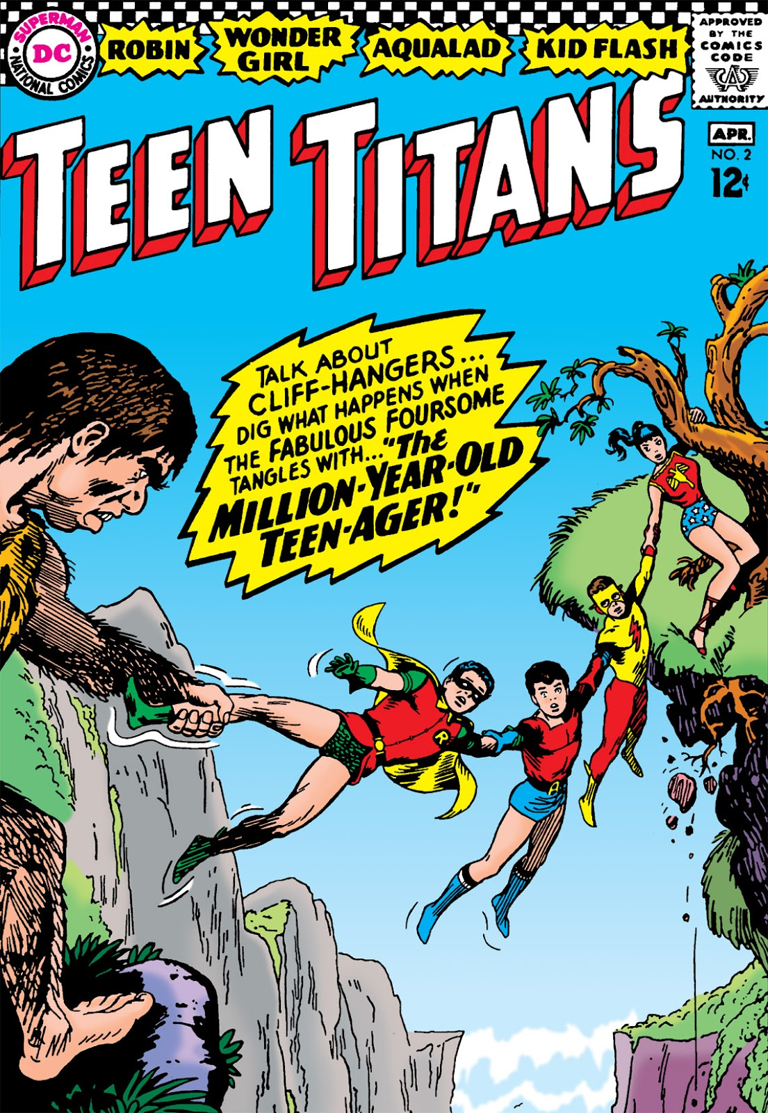Teen Titans (1966) issue 2 - Page 1